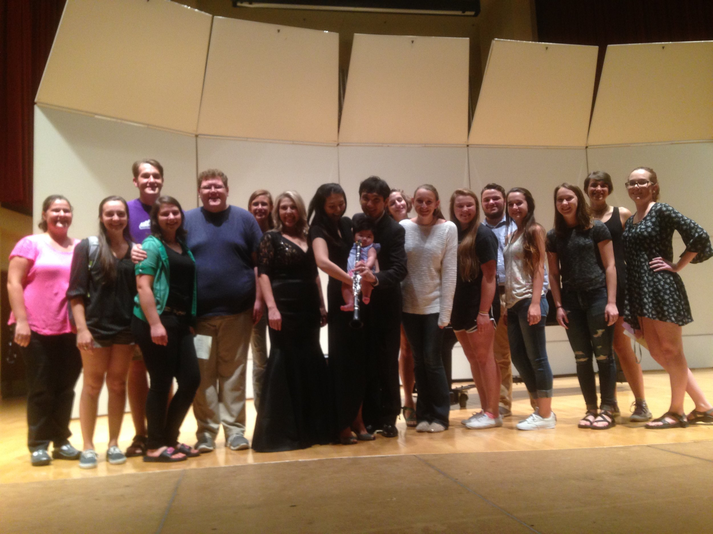 Many thanks to all my students who came out to the recital!