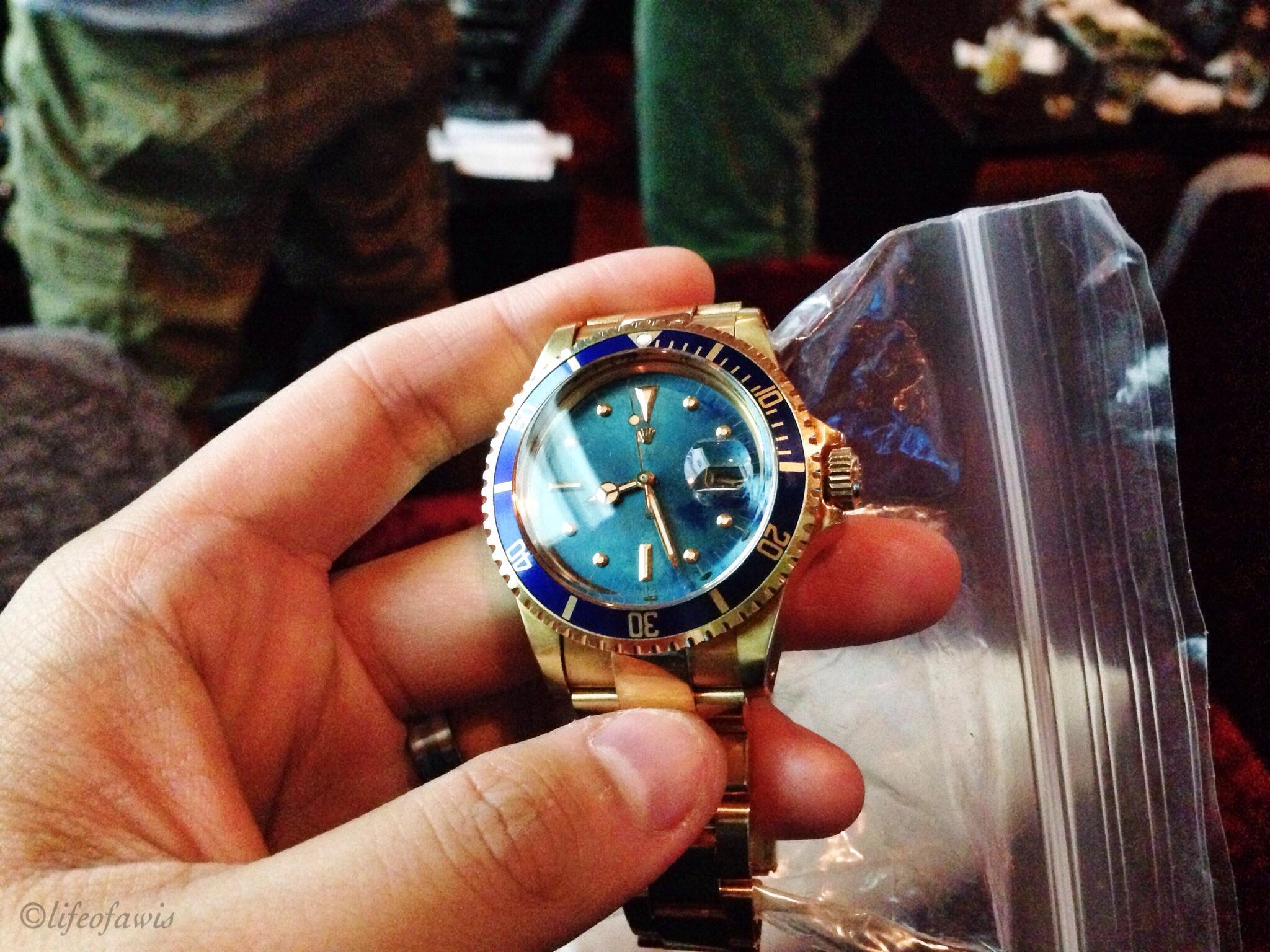 Vintage Rolex Submariner.