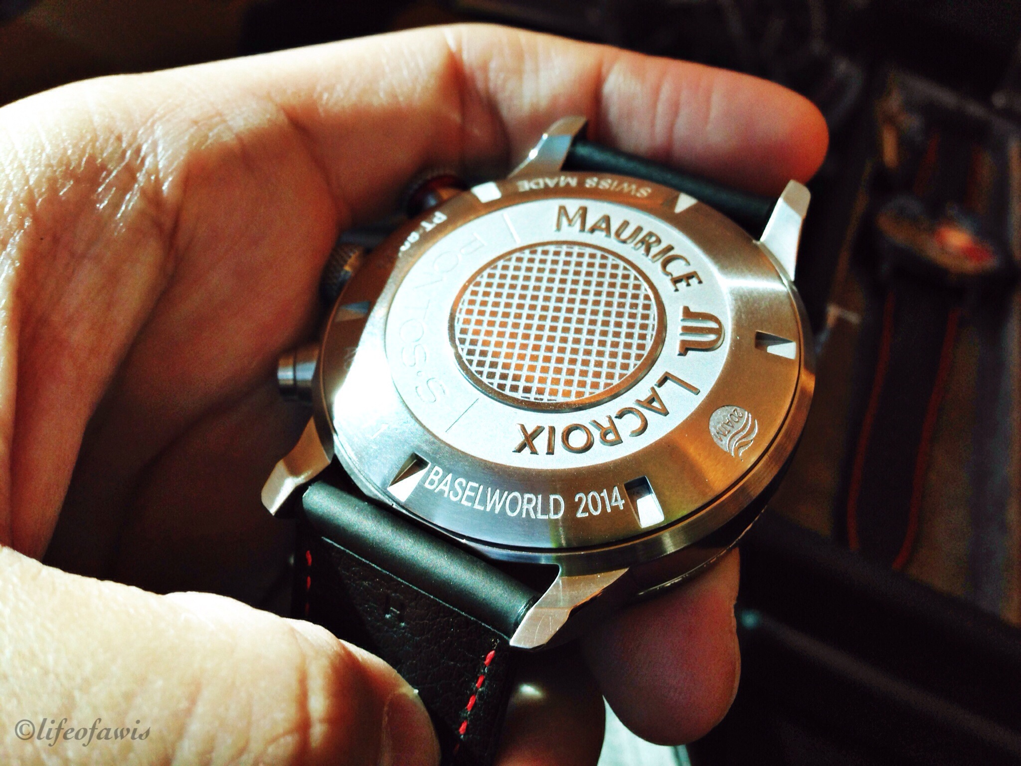 Prototype watches straight from Baselworld 2014.