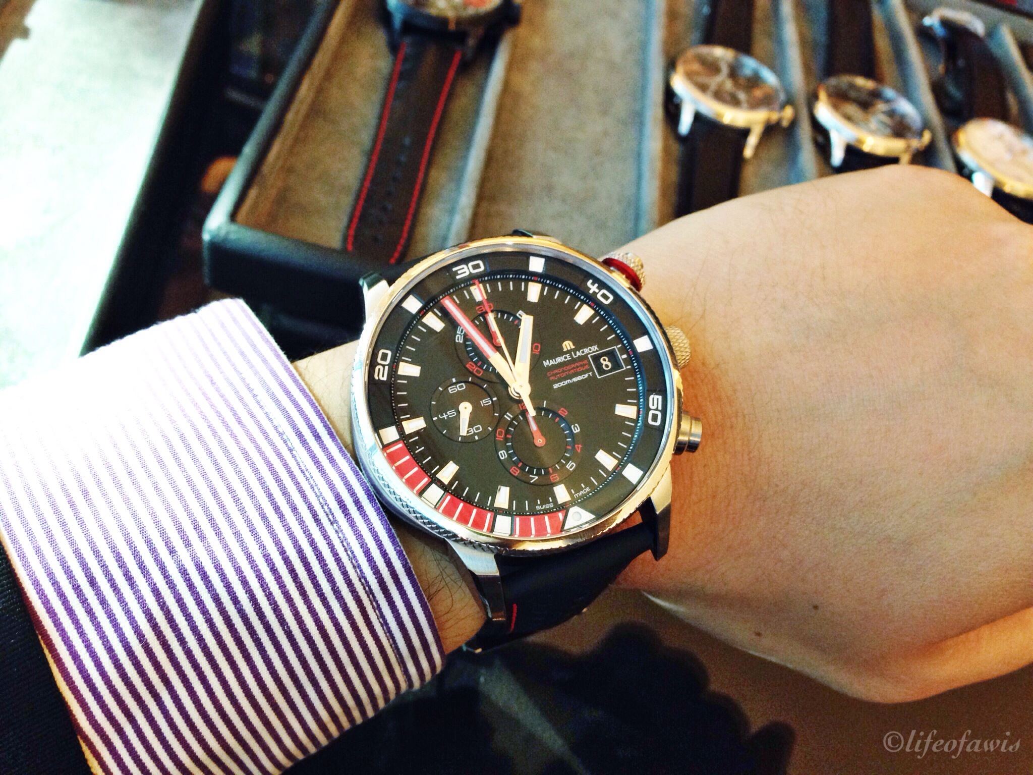 Pontos S Supercharged with red accents.