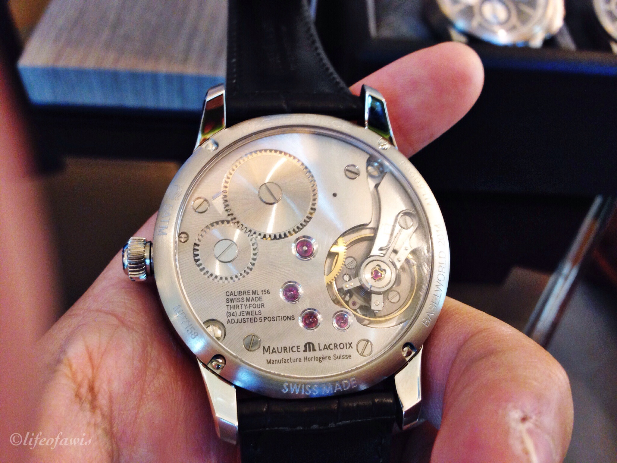 Beautifully designed and crafted  manufacture  movements.