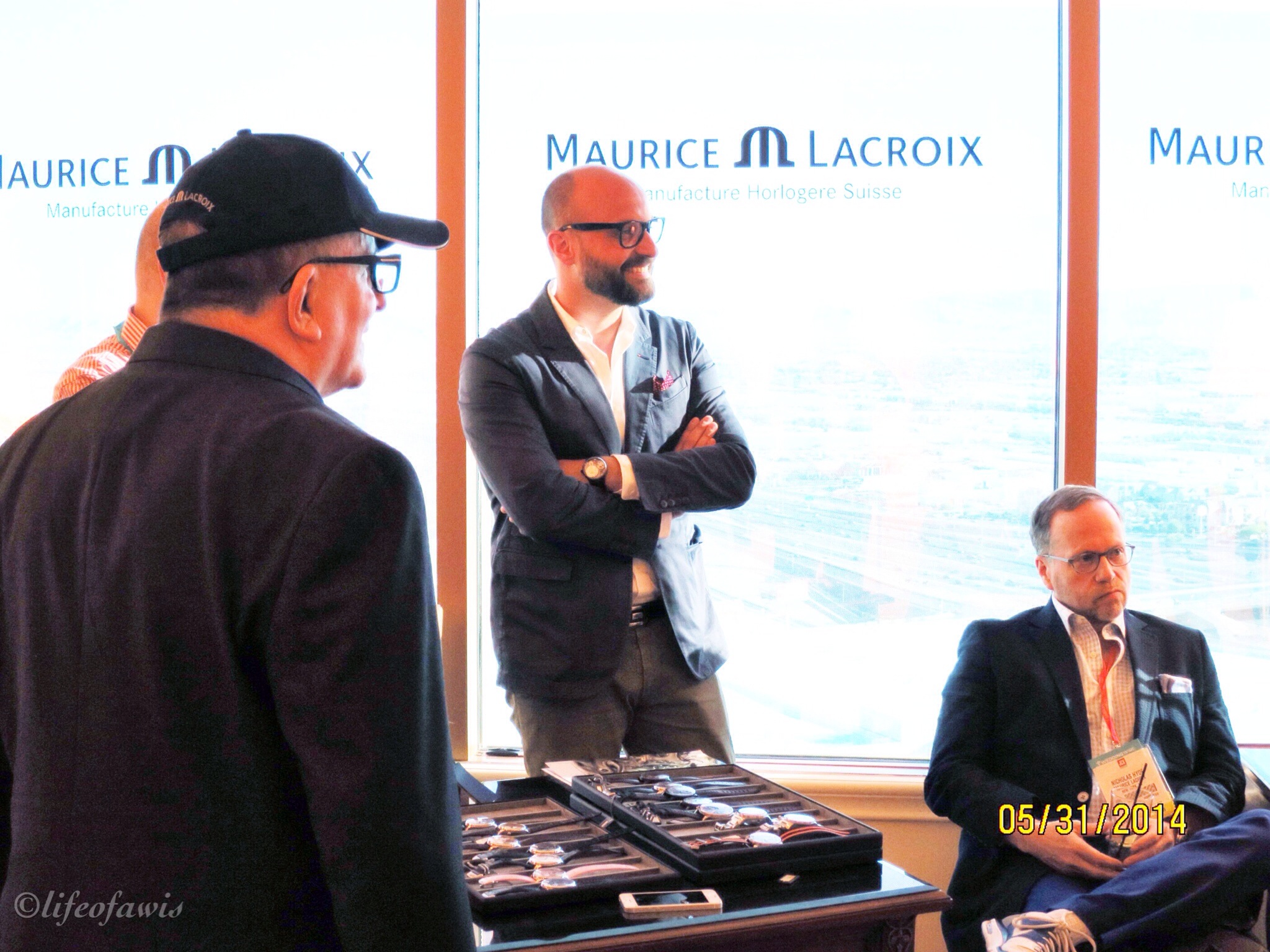 Sandro Reginelli, Product and Marketing Director for Maurice Lacroix.