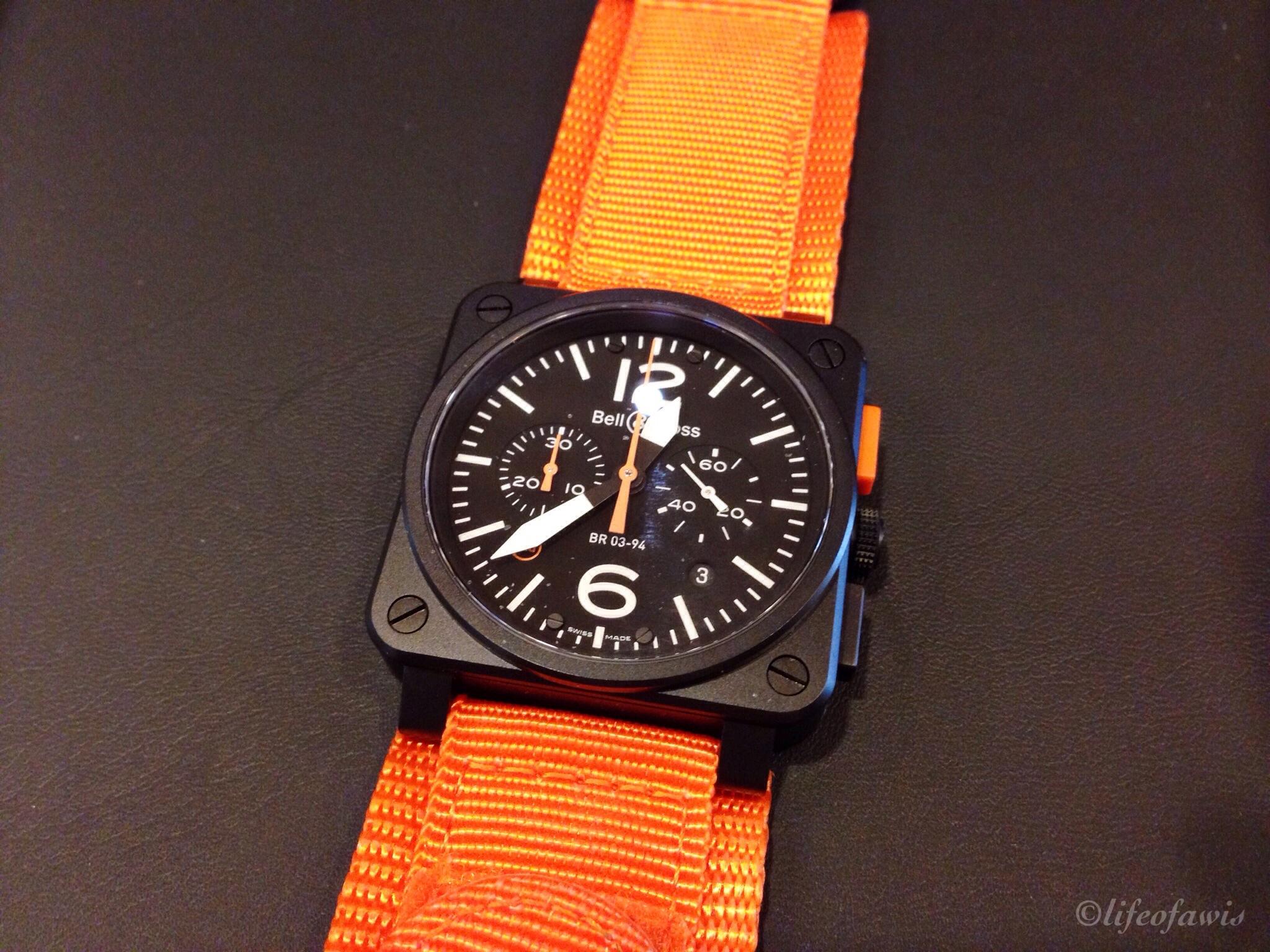 BR-03-94 Carbon Orange.