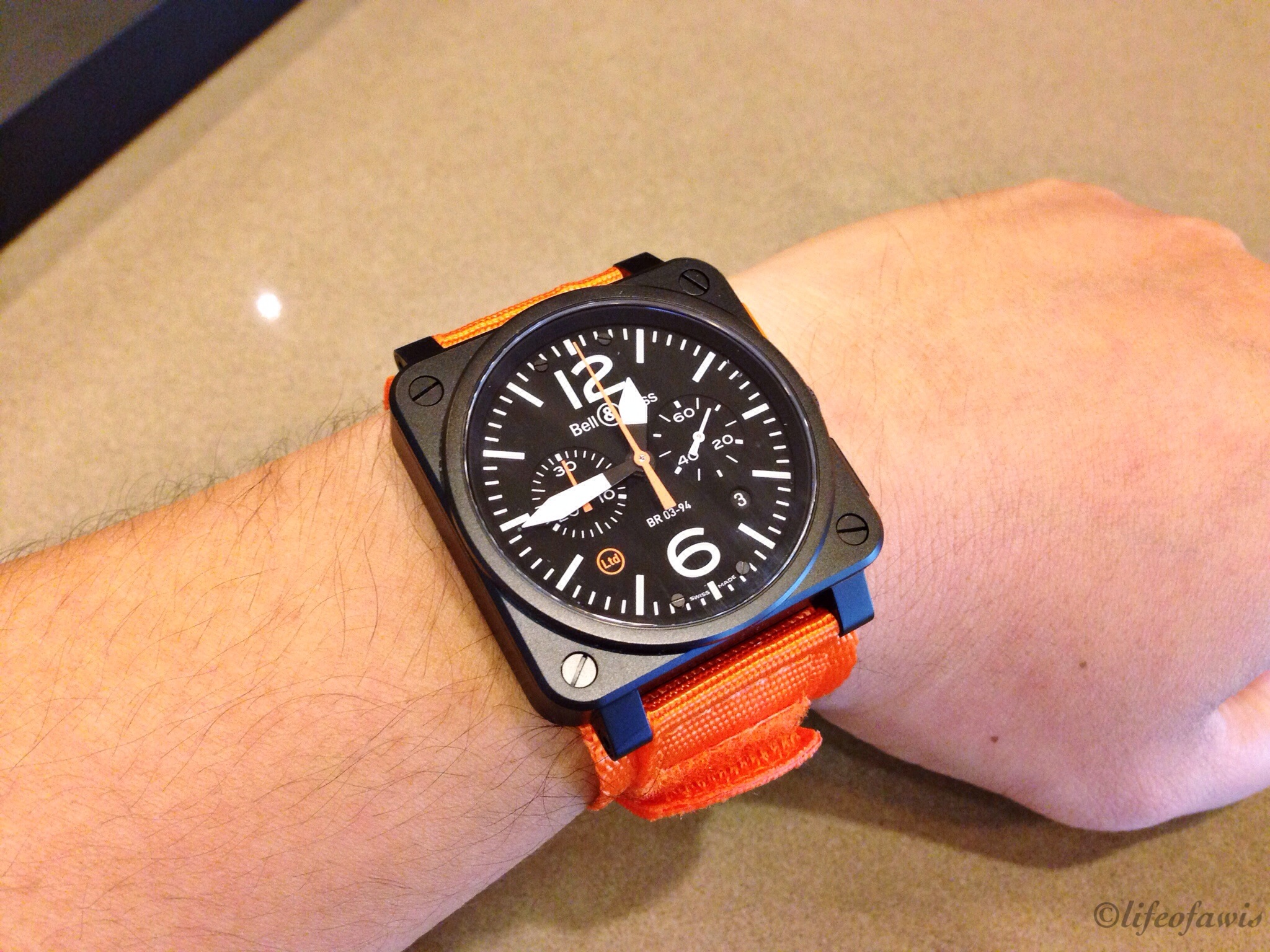 Looks even better on the wrist.
