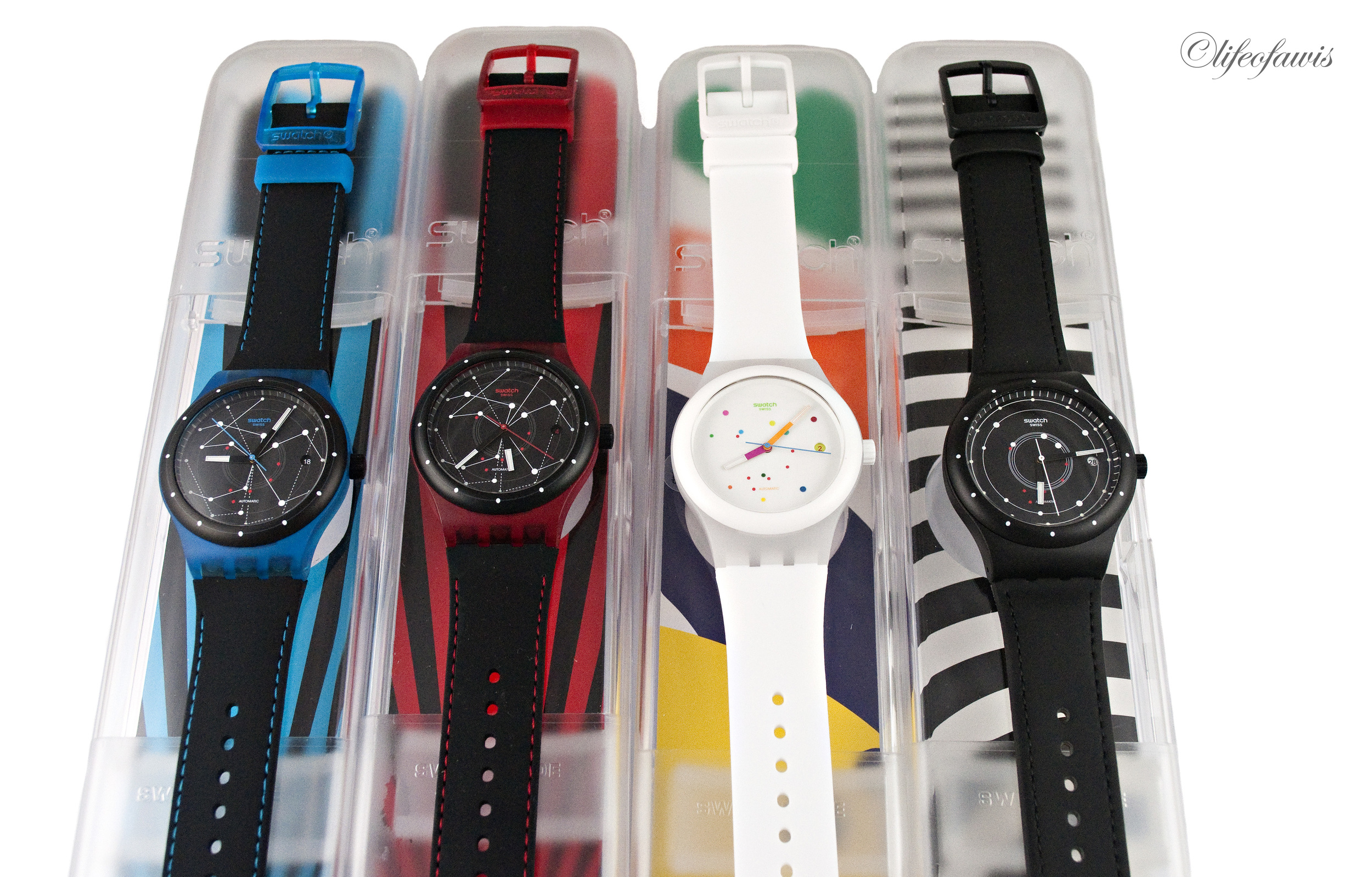 The four different models available of the Sistem51.