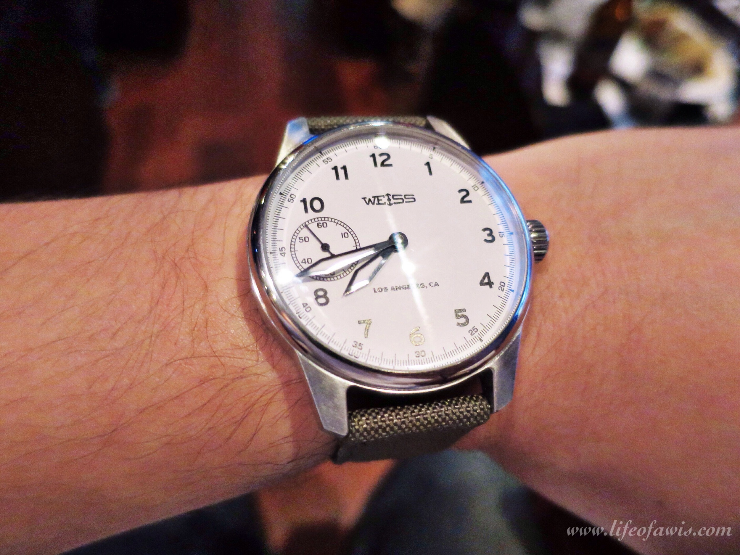 weiss-watch-white-dial-wristshot