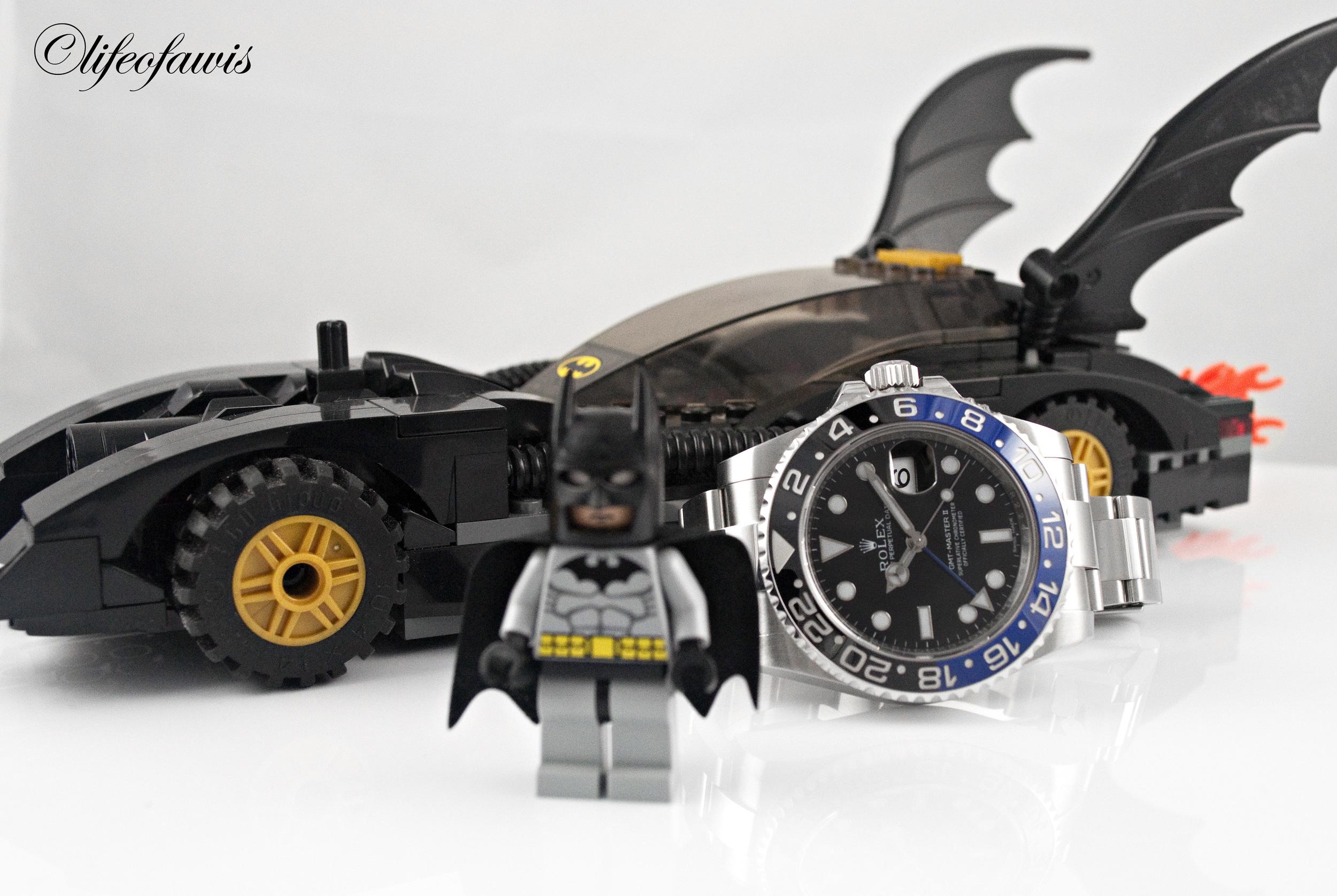 Batman has arrived.