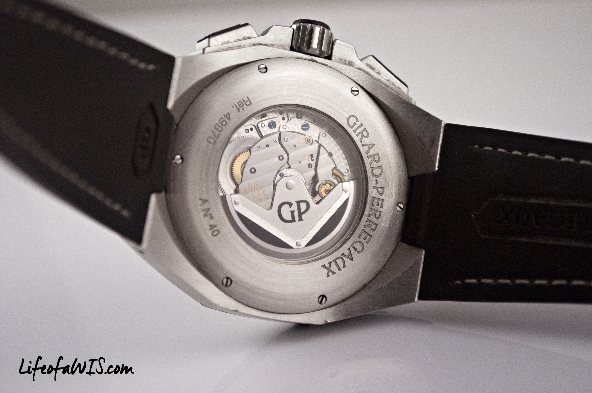 The beautiful GP03300-0073  manufacture  movement.