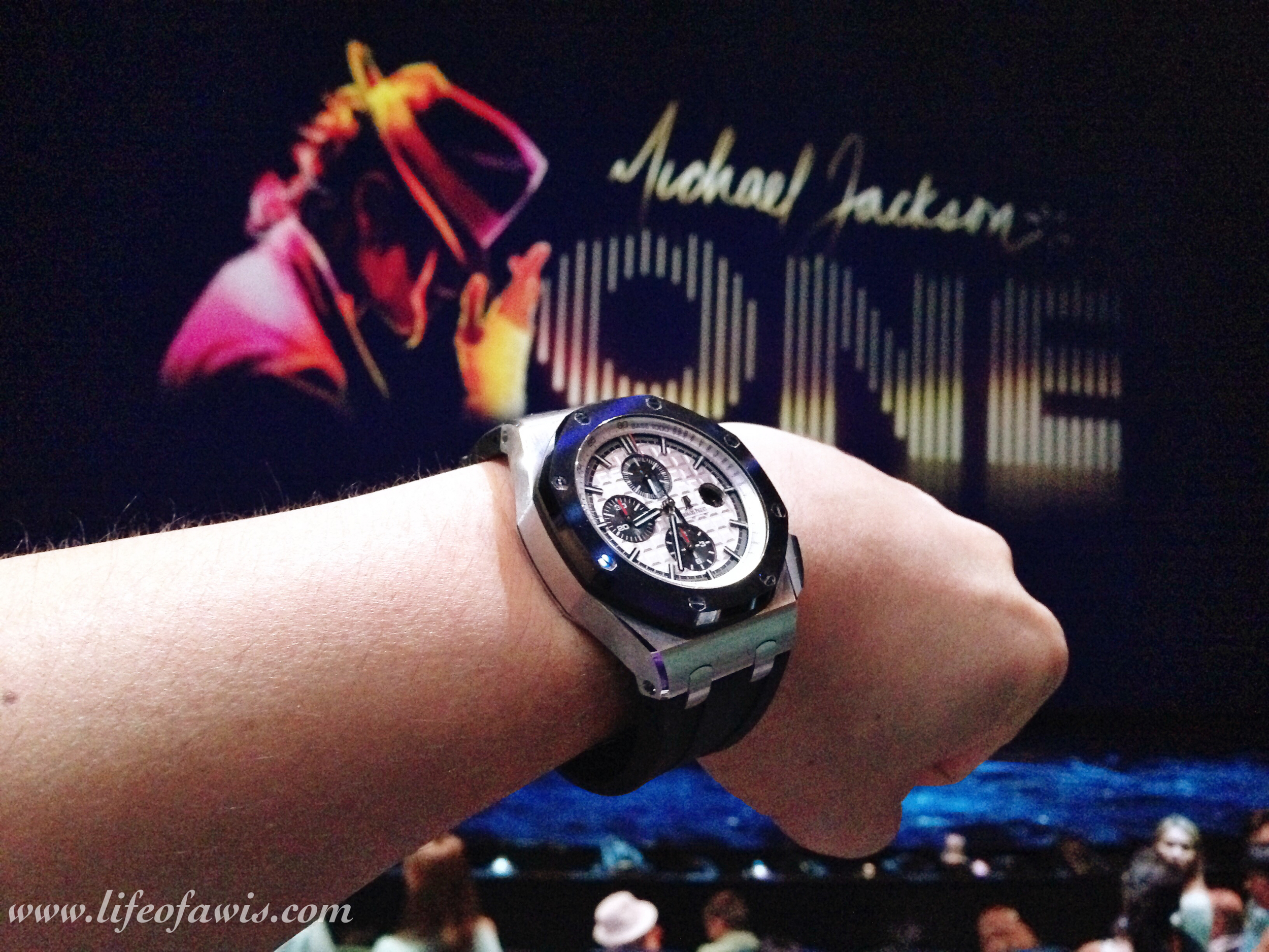 The last Cirque du Soleil show I saw was Michael Jackson ONE, which ranked #4 on my list.
