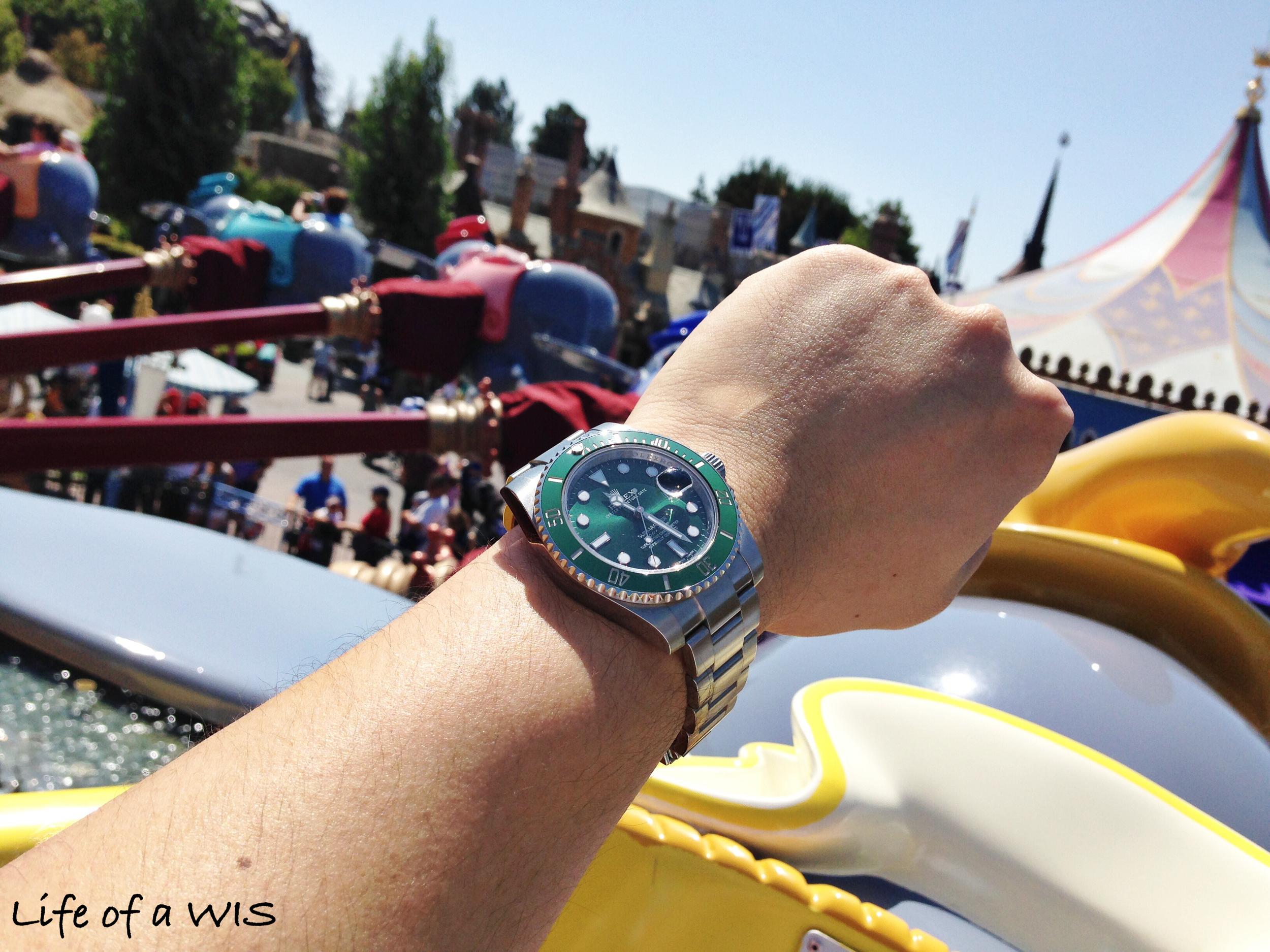 Same ride, different watch.