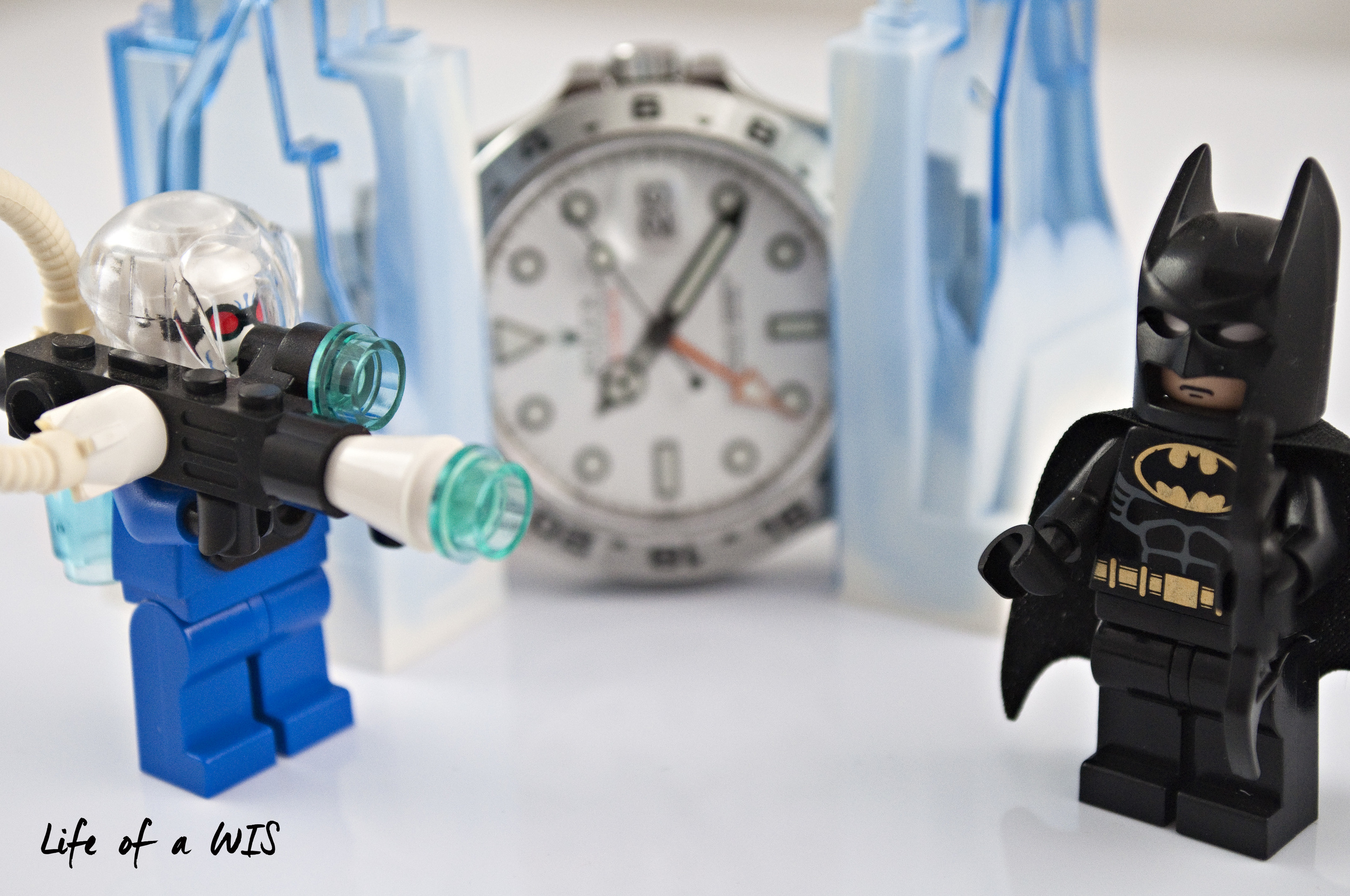 Can Batman save Rolex from Mr. Freeze?