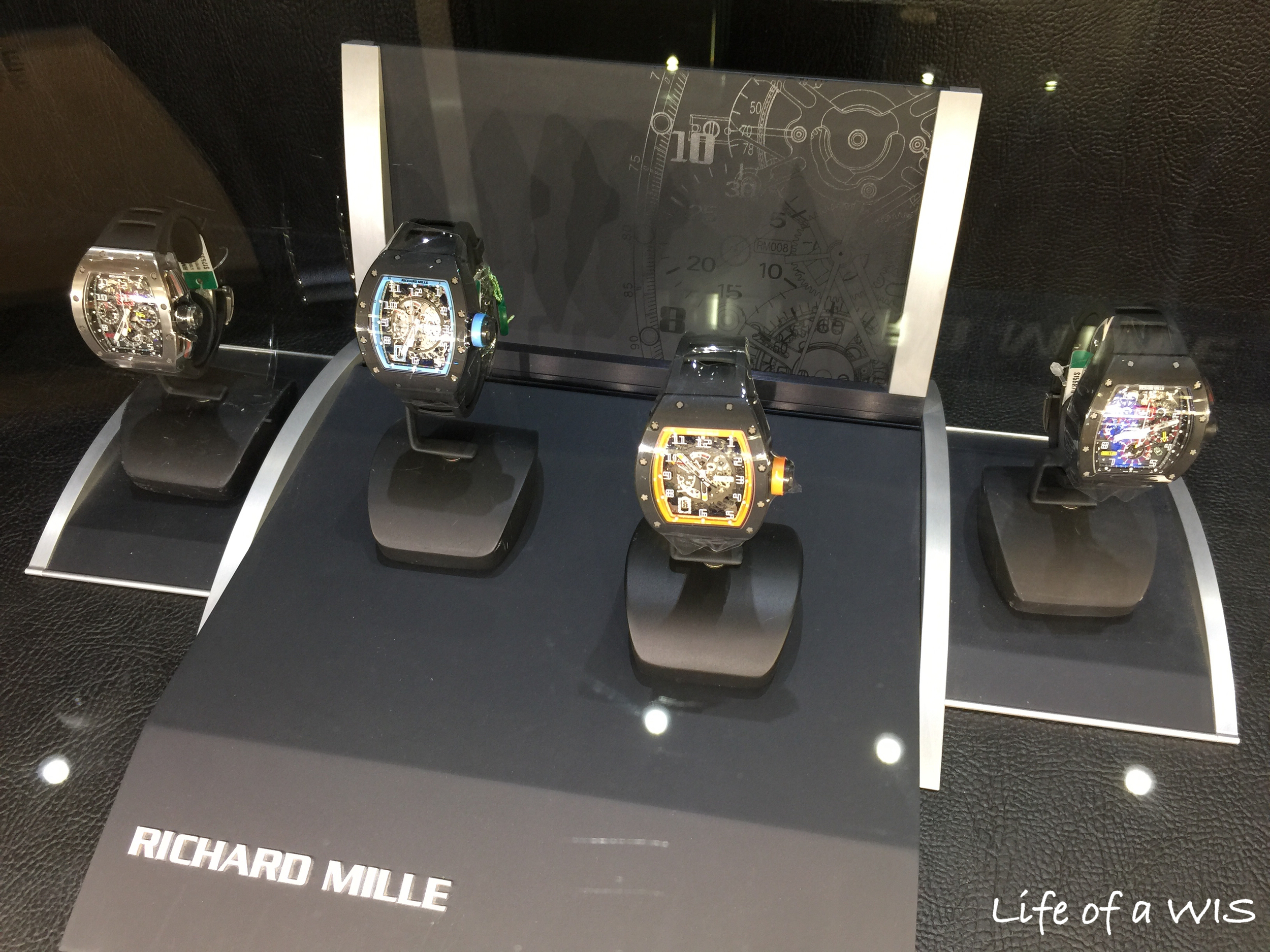 The Richard Mille selection.