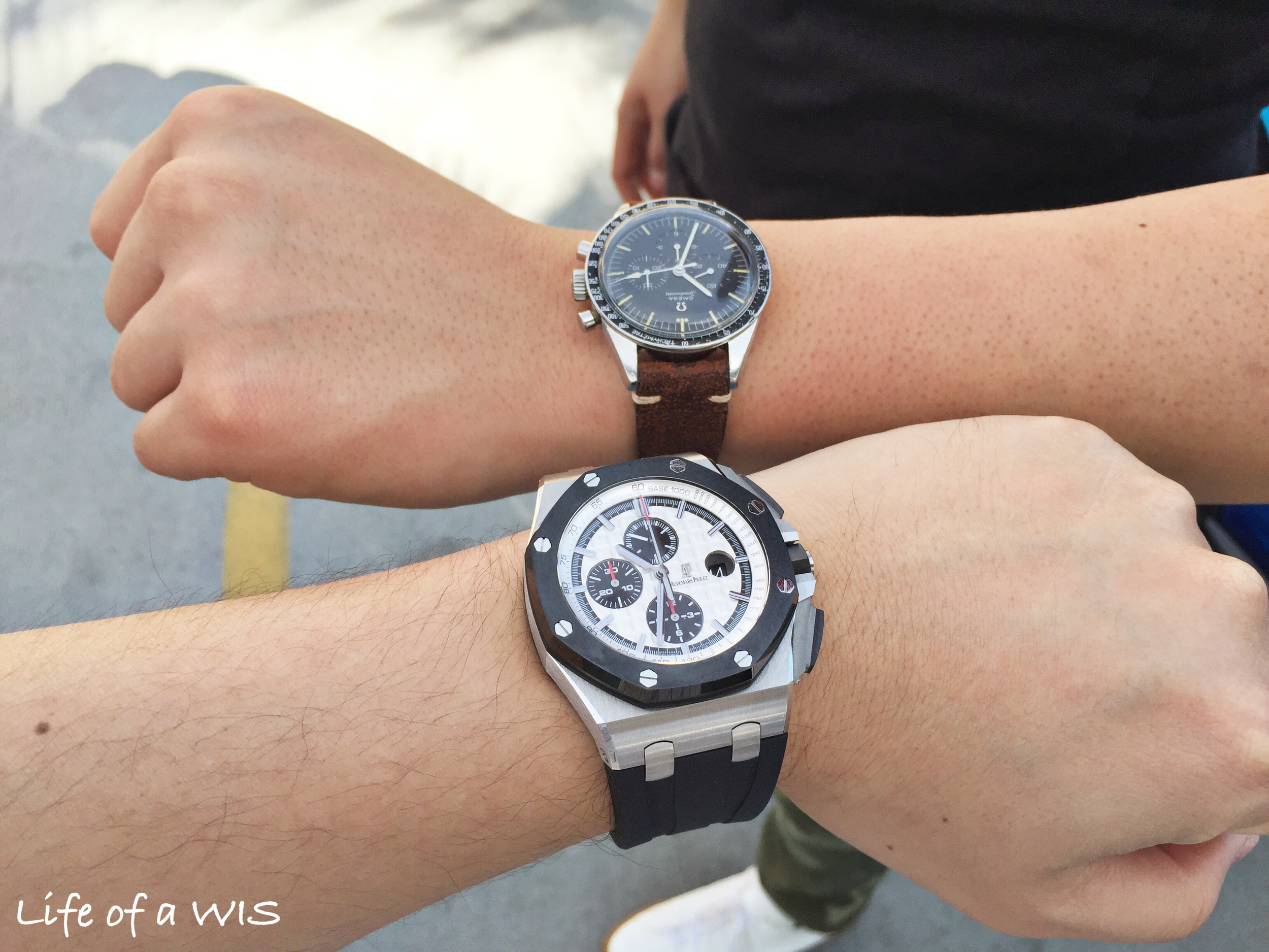 And a joint wrist shot with #LAWatchGang member  @djhsueh  to wrap up the event.