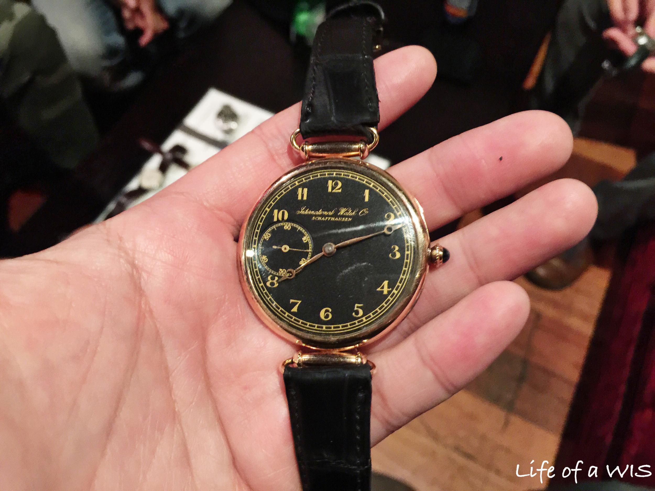 International Watch Company... IWC.