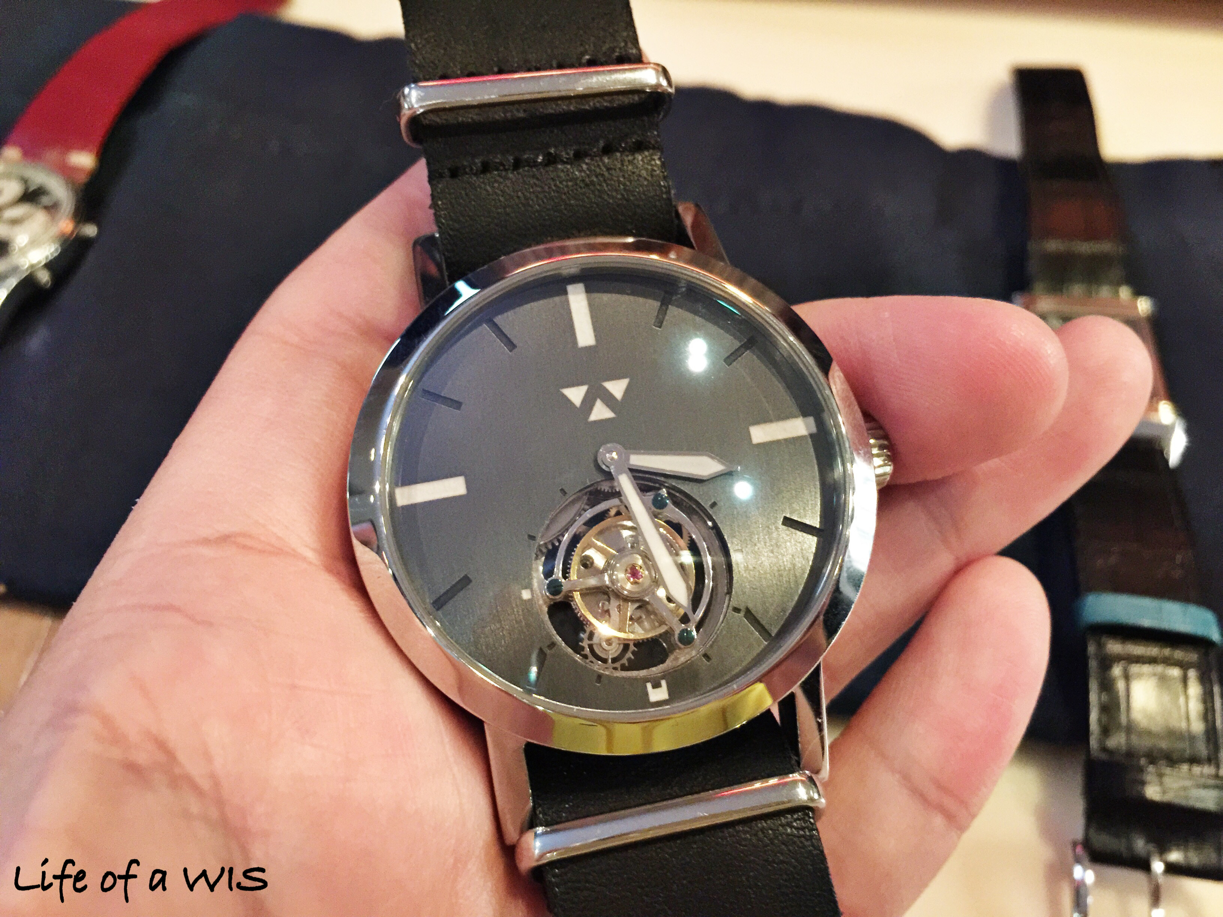 A Tourbillon for less than $2K?  Wilk Watch Works Lydian.
