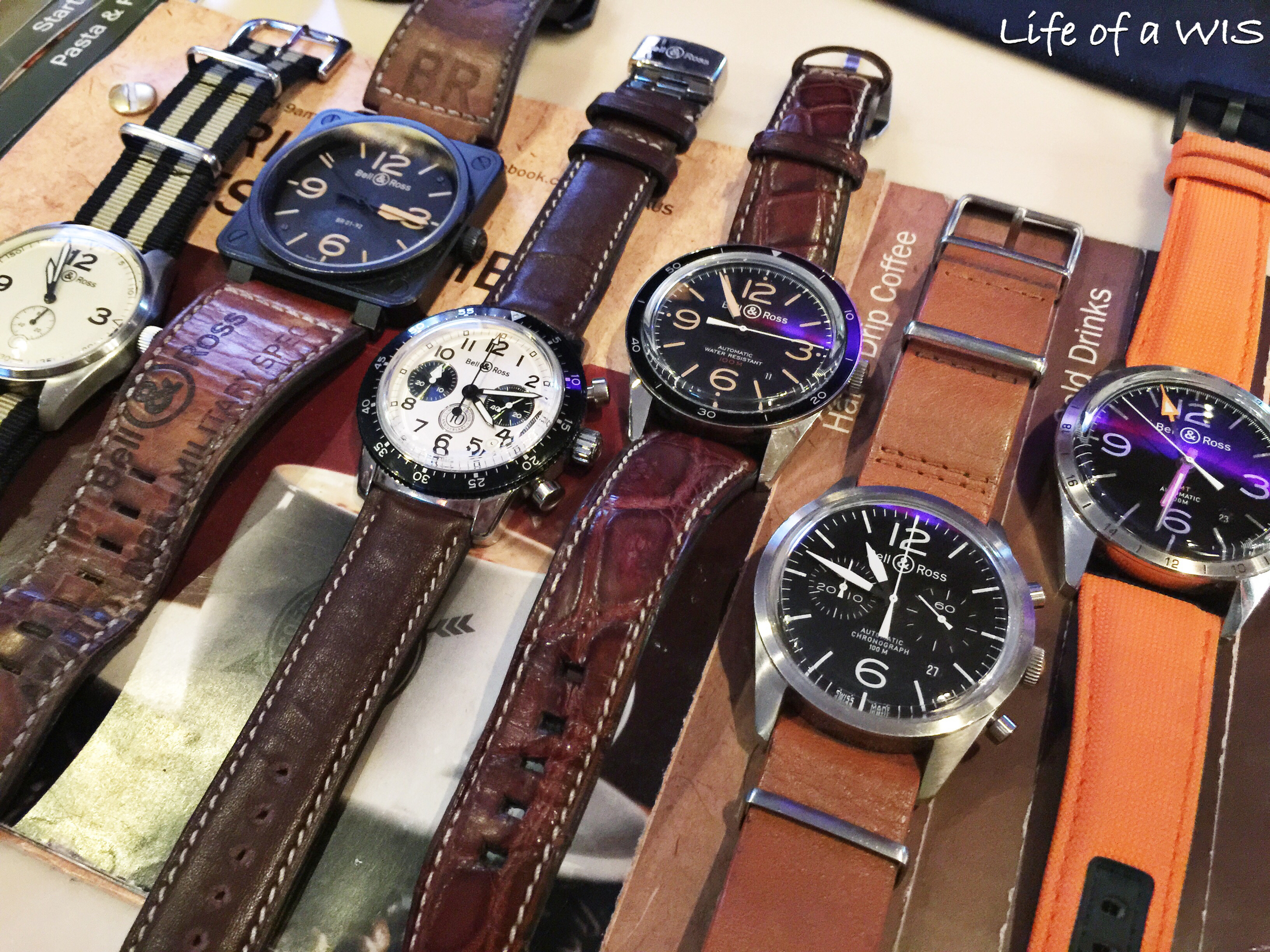 The Bell & Ross group.