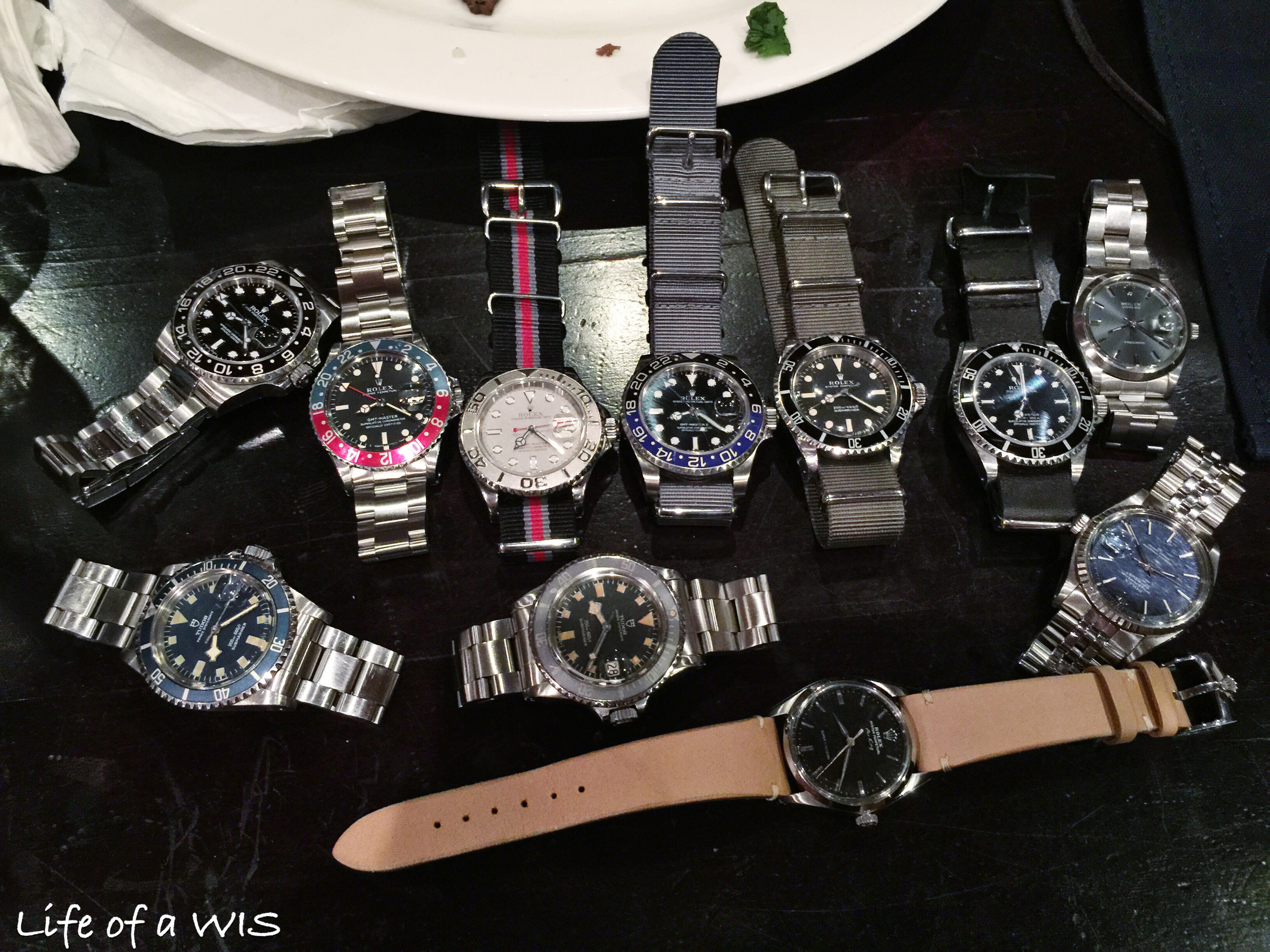 The Rolex group shot!