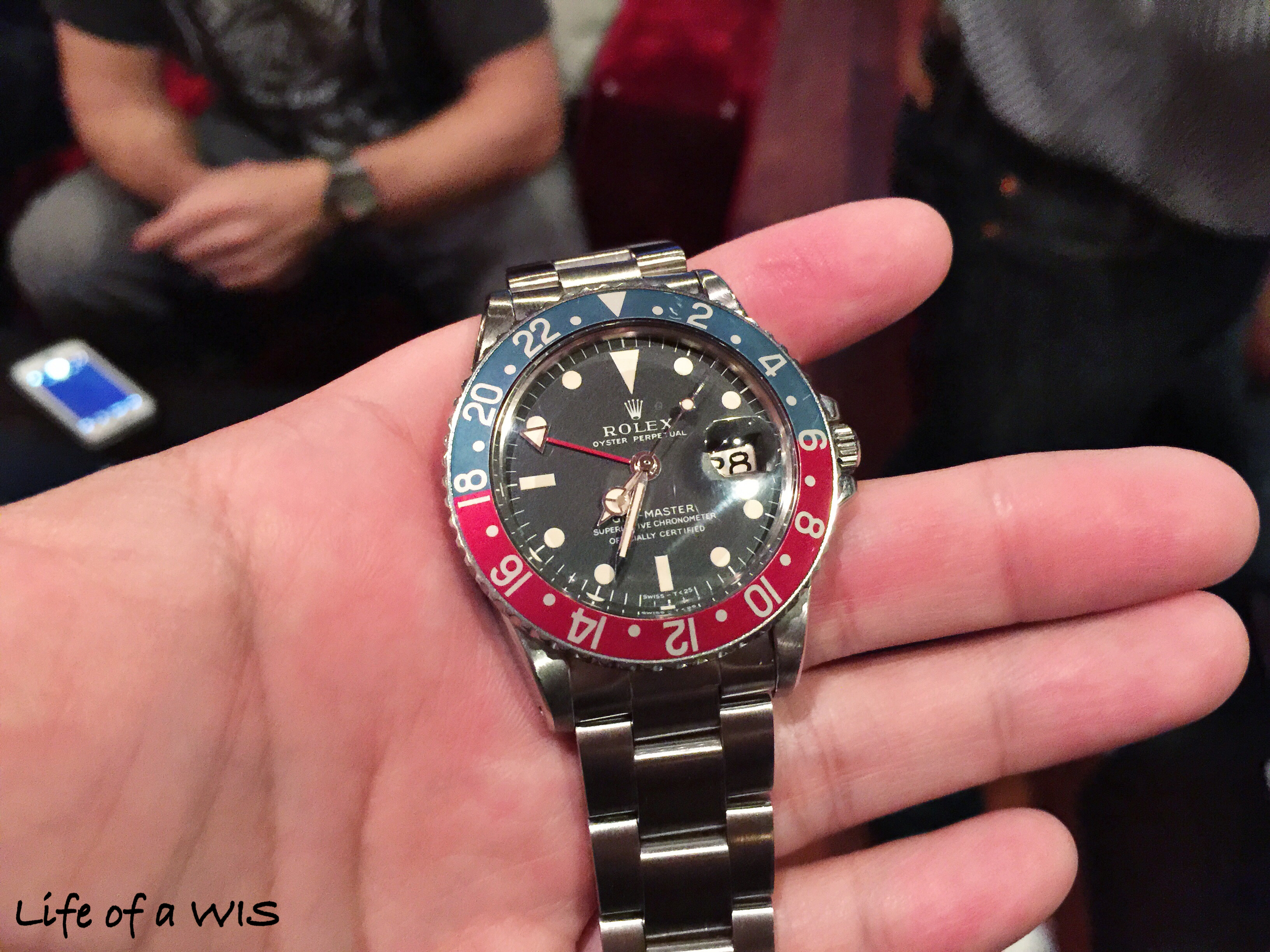 Beautiful looking Pepsi GMT-Master II.