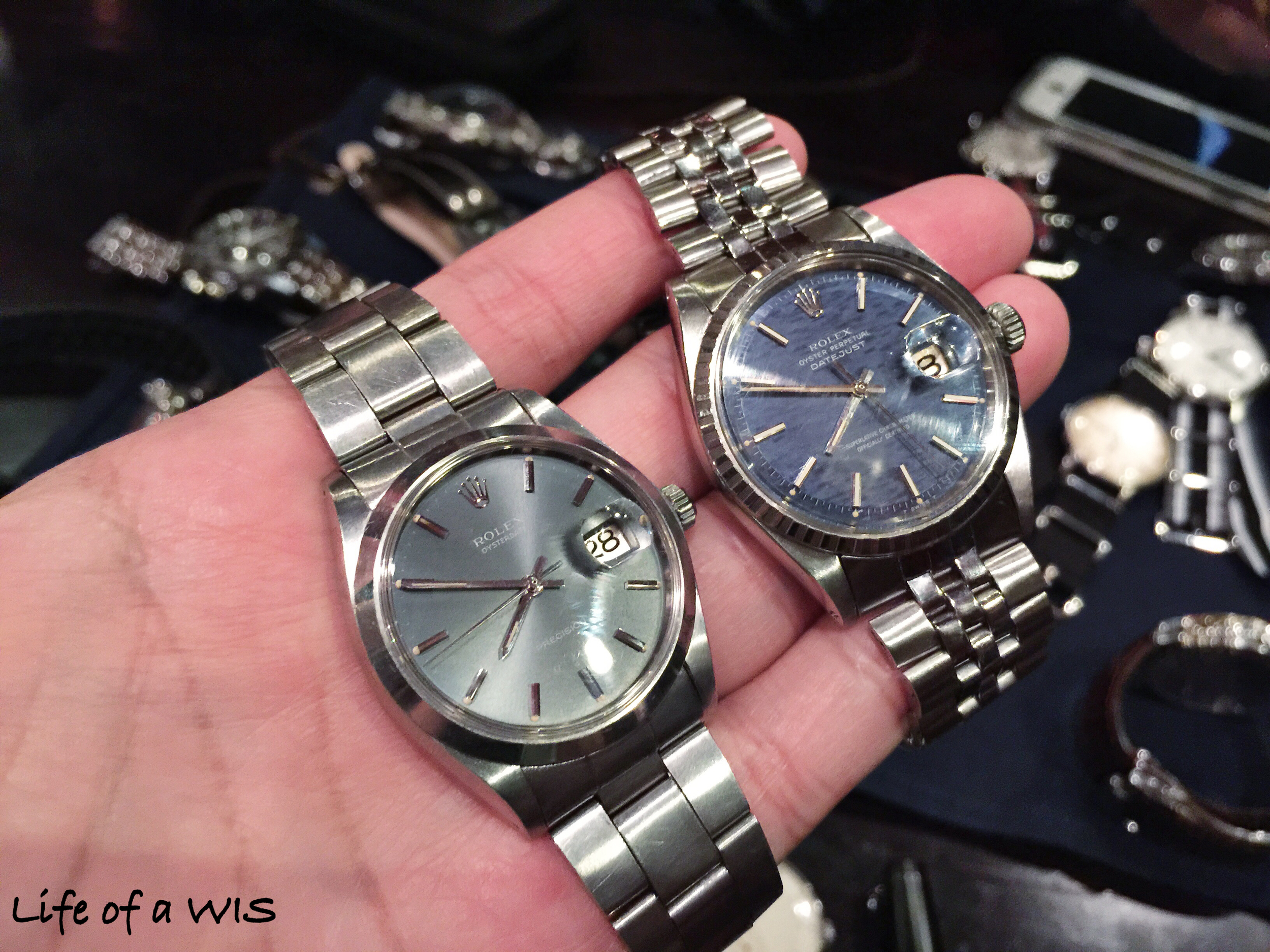Little Rolexes...