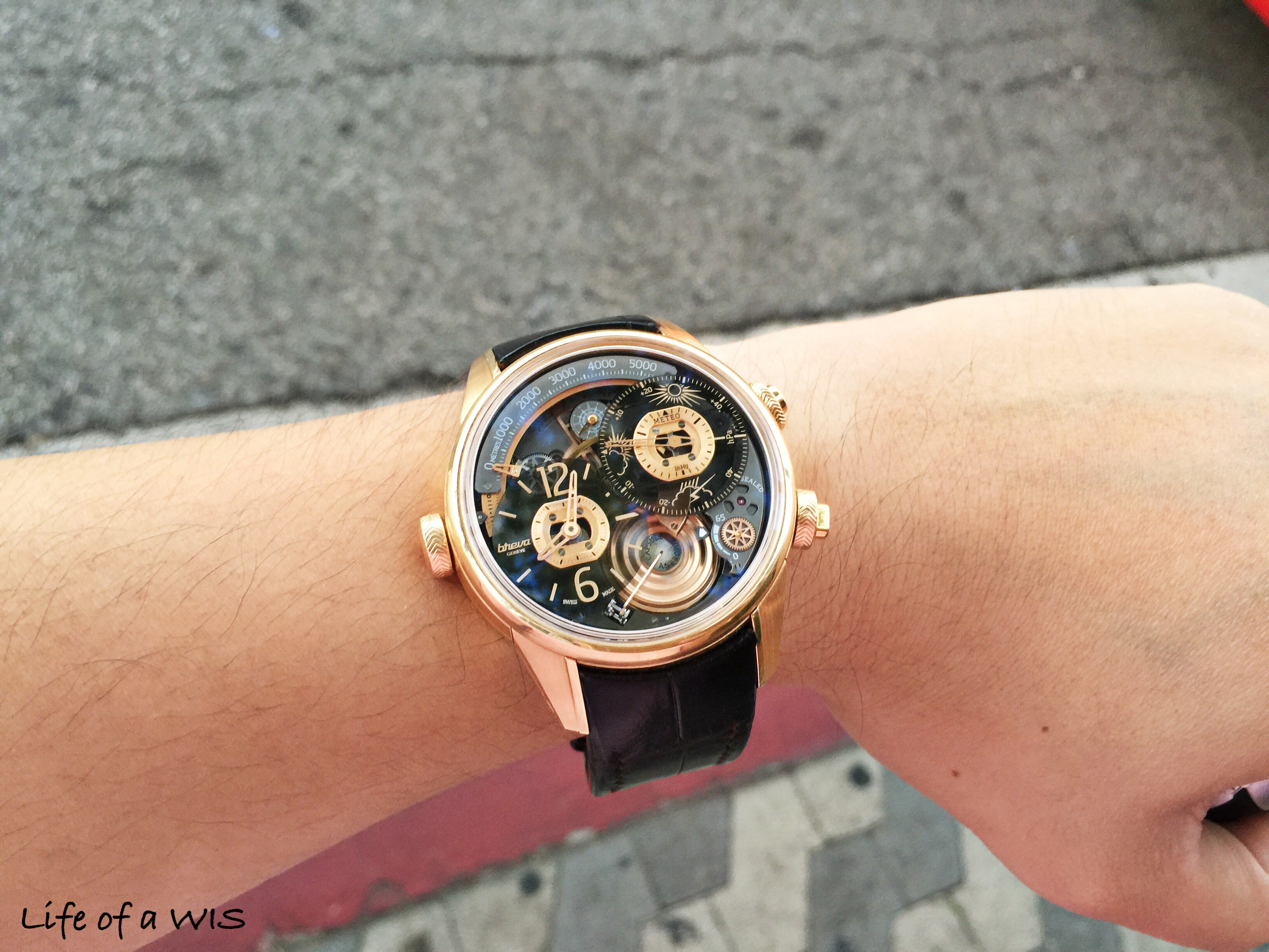 """The 44.7mm case looks great on my 6.5"""" wrist."""