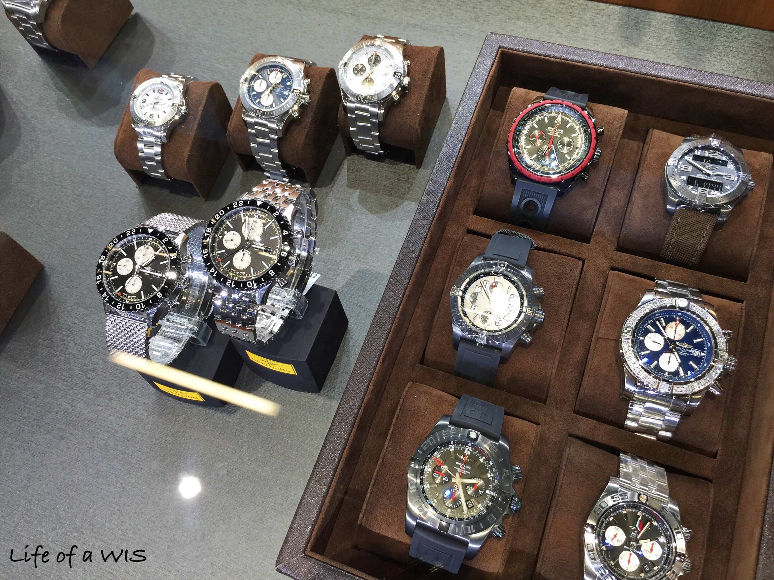 The rest of the Breitlings.