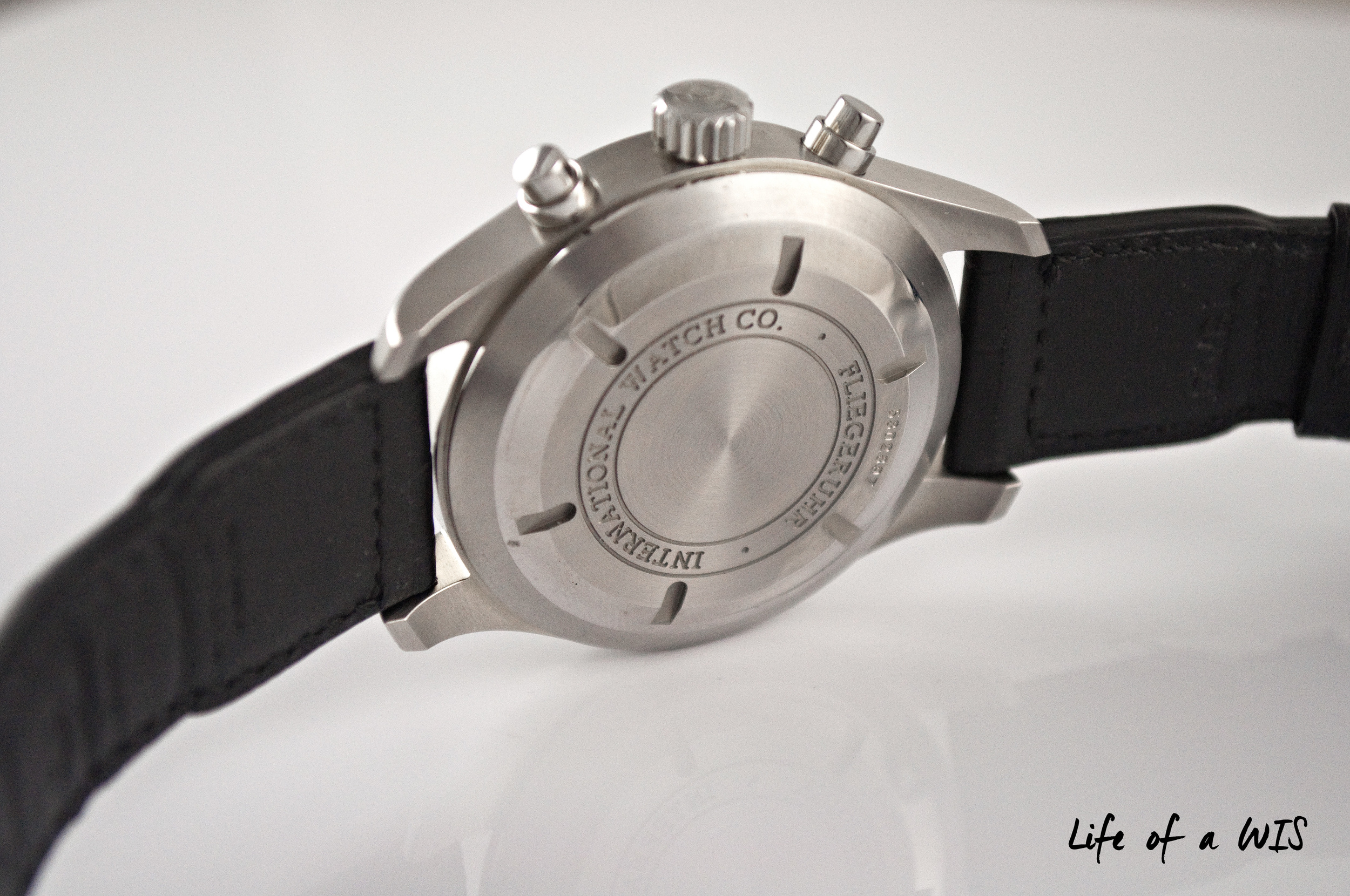A modified Valjoux 7750 movement powers this beauty.