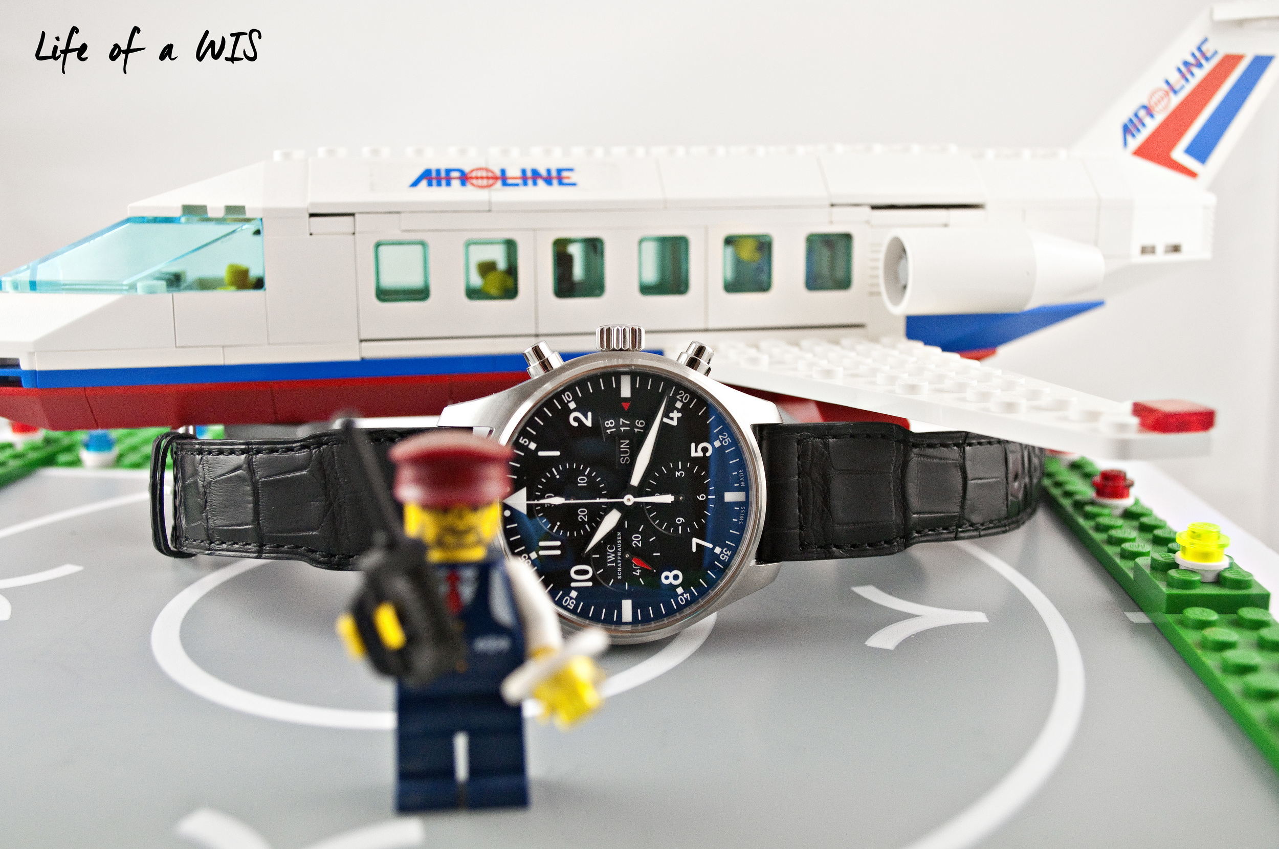 The Pilot is ready for take off!