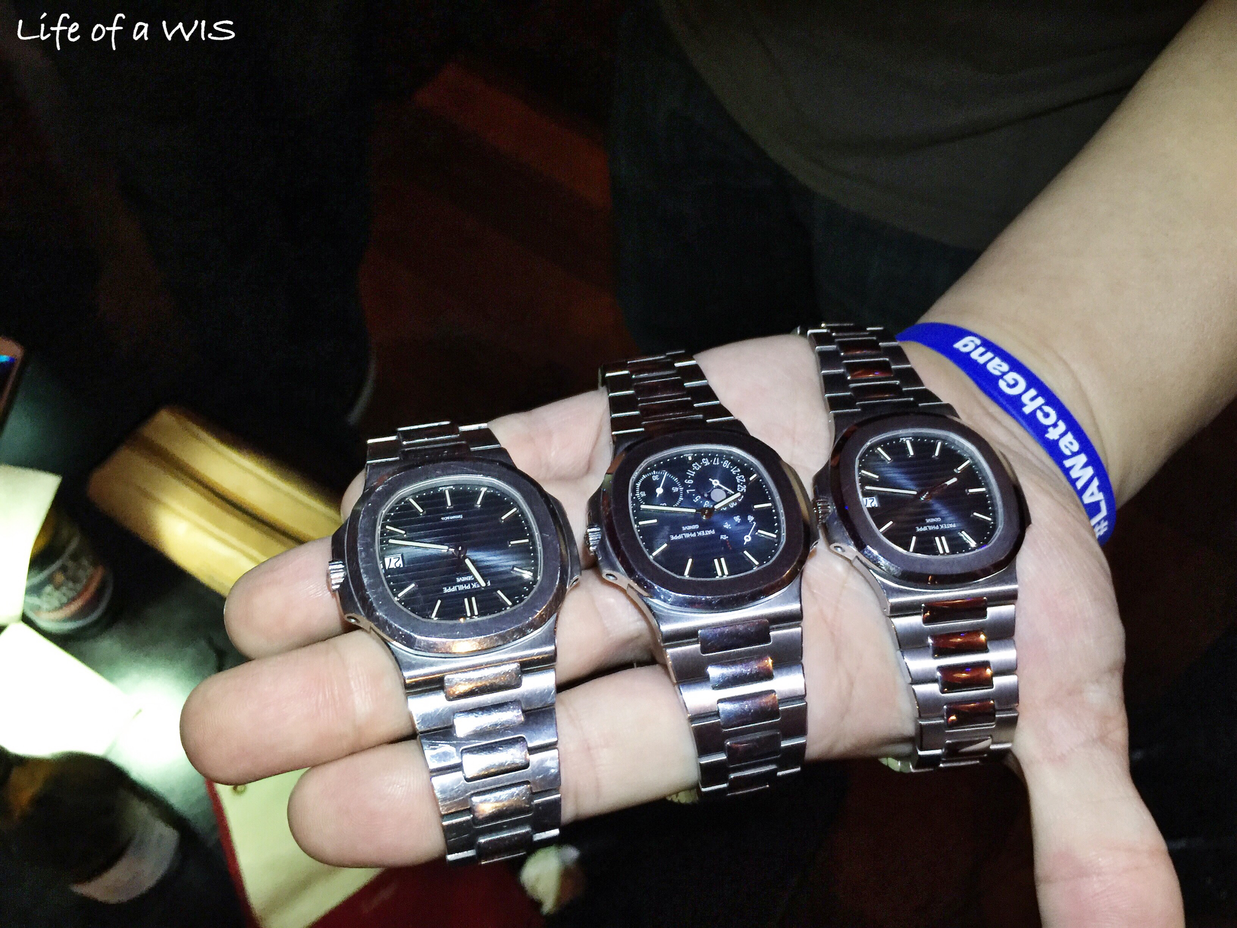 Three Pateks are better than one right?