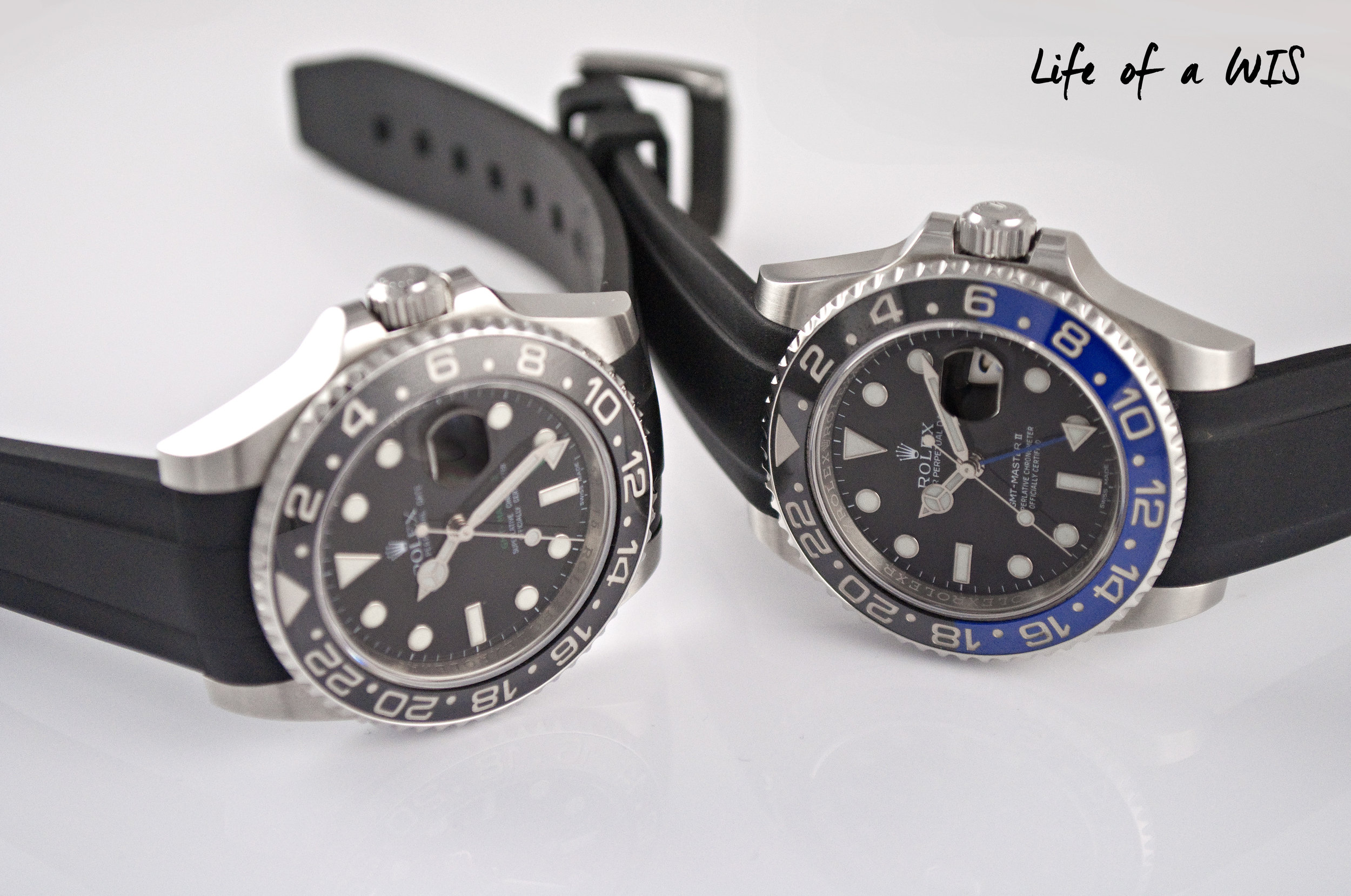 Both straps will give your Rolex a new and refreshing look.