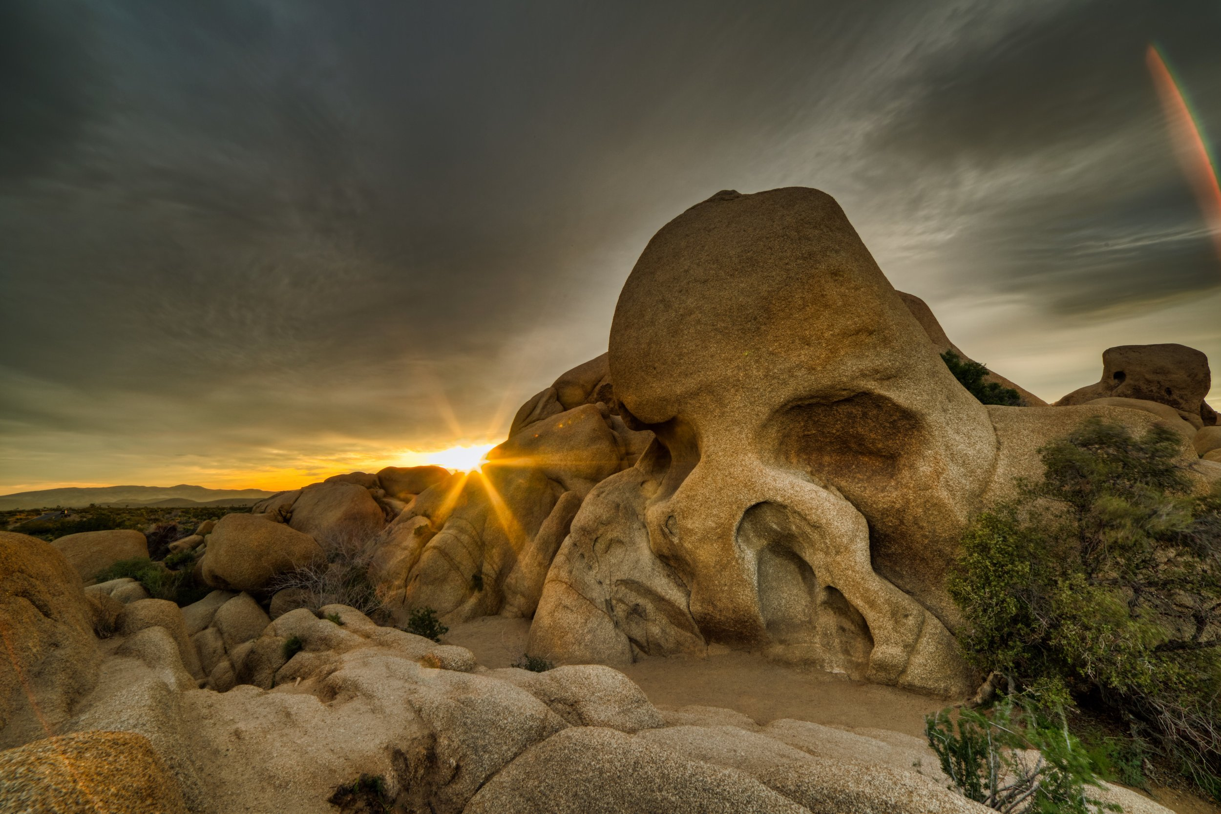 Skull Rock at Sunrise