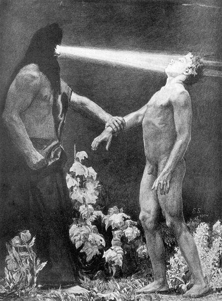 Sascha Schneider,  Hypnose , 1904