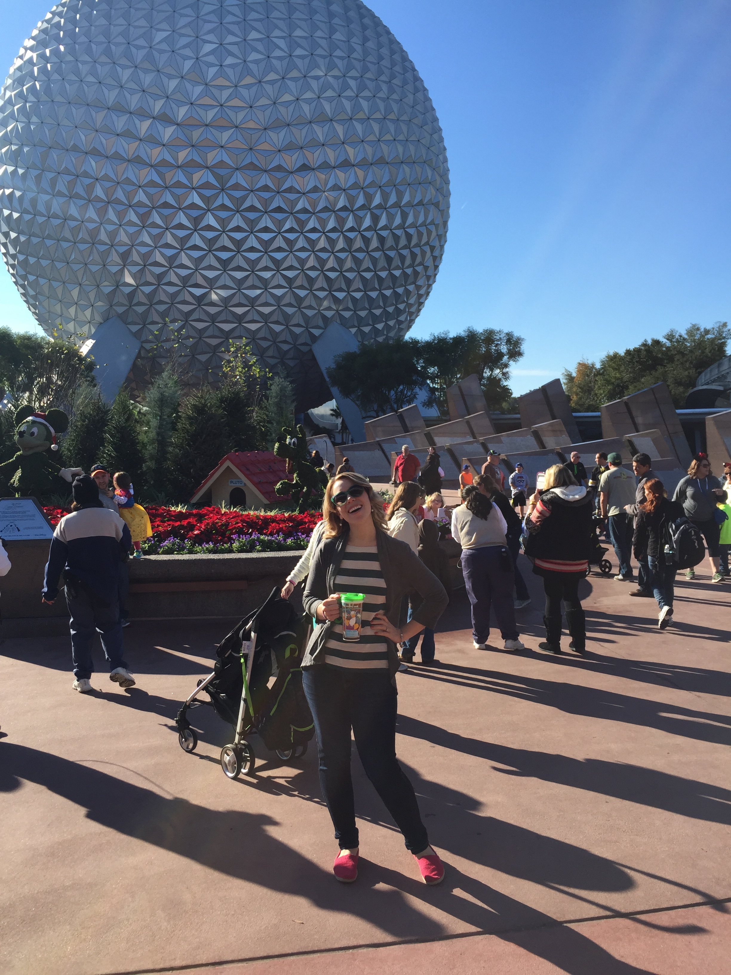gratuitous Disney World photo. because, why not? ps- i left my phone on Test Track the day this was taken. FOUND IT! a miracle!