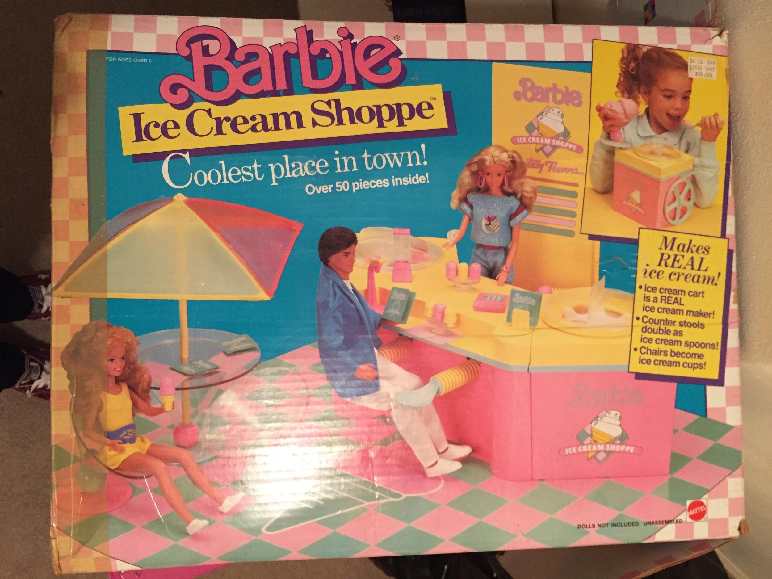 barbie ice cream shoppe