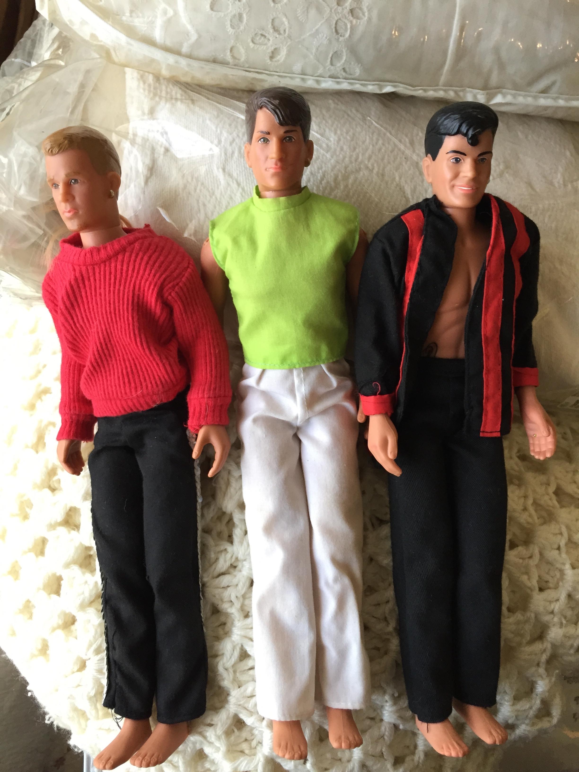 New Kids on the Block dolls