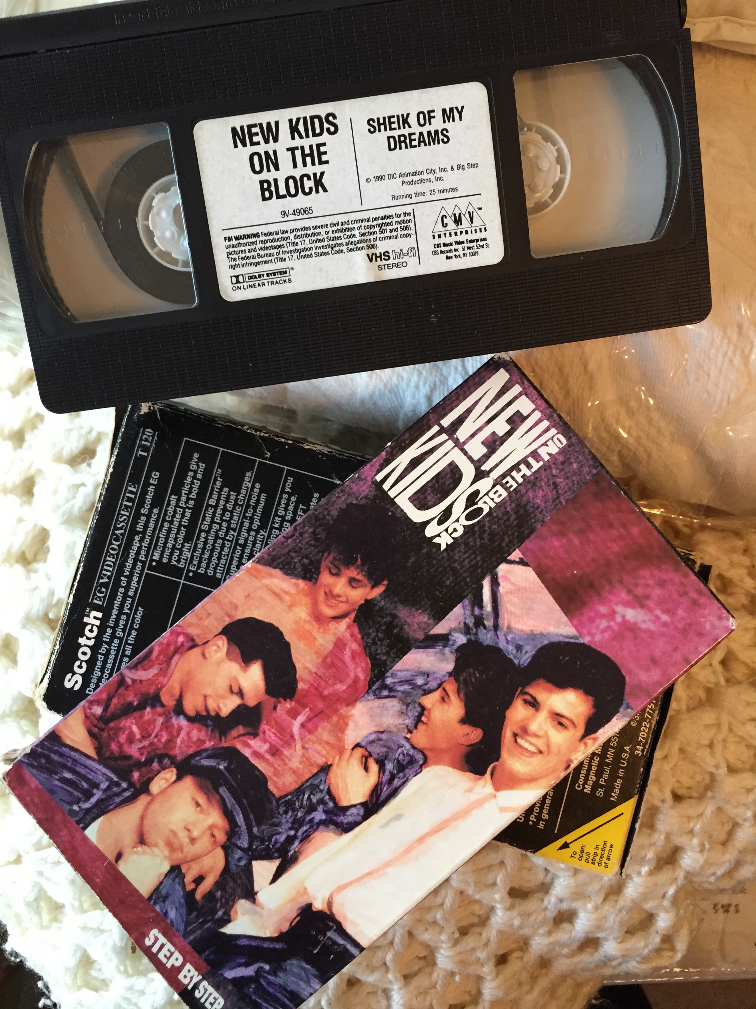 New Kids on the Block vhs movies