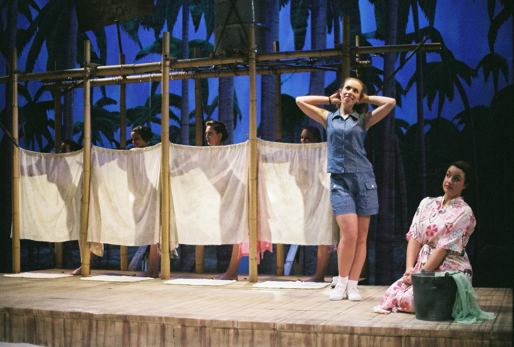 South Pacific , 2006 at Christopher Newport University. Pictured with Anna Sease.