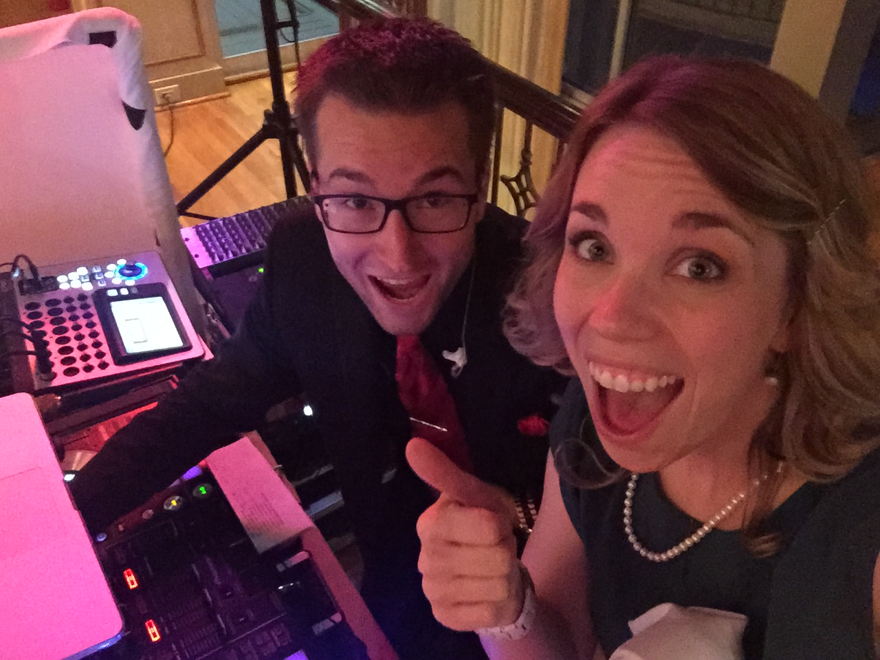 This guy right here!!! James was Lucas and Regan's DJ last July. I enjoyed getting to work with him again. SUPER FUN dude and really knows how to jazz up the crowd! (He had the grannies and grams dancing!)