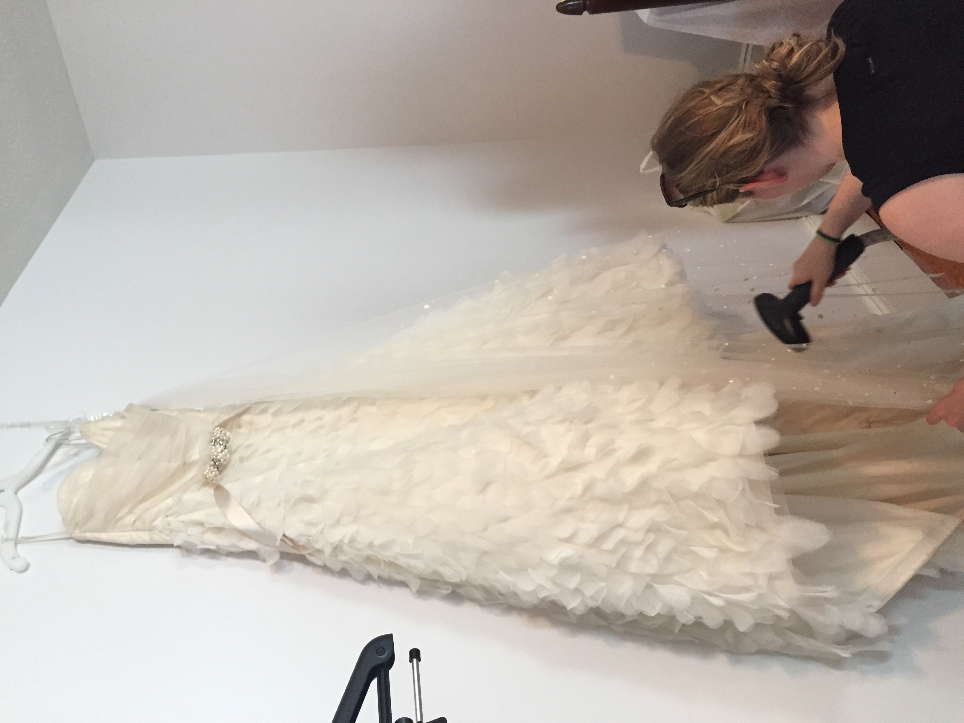THIS DRESS! It was so perfect!