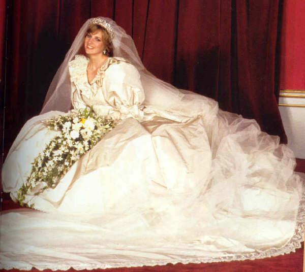 Princess Diana wedding bouquet