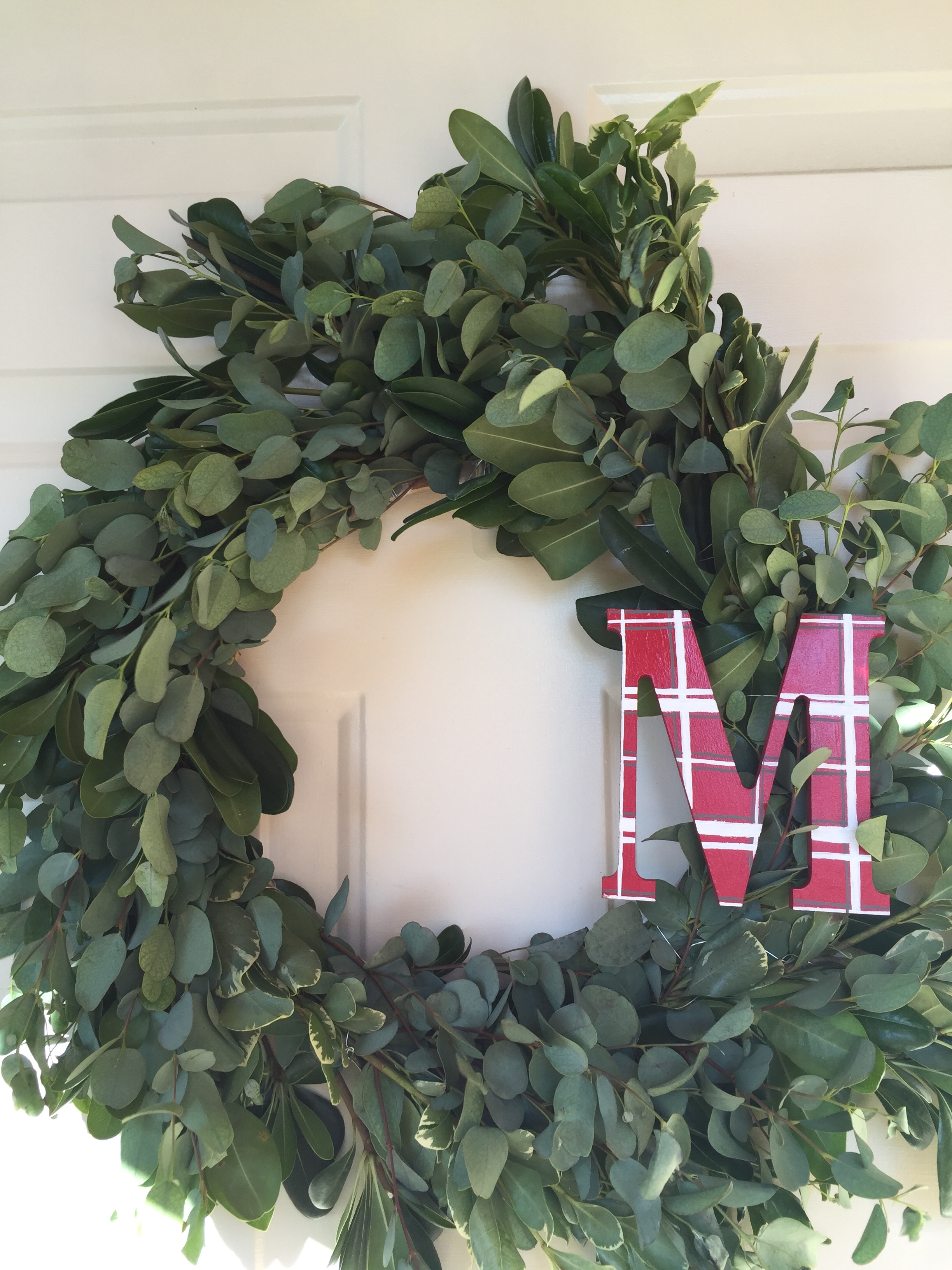 I am in love with this wreath! I can check wreath-making off on my list.