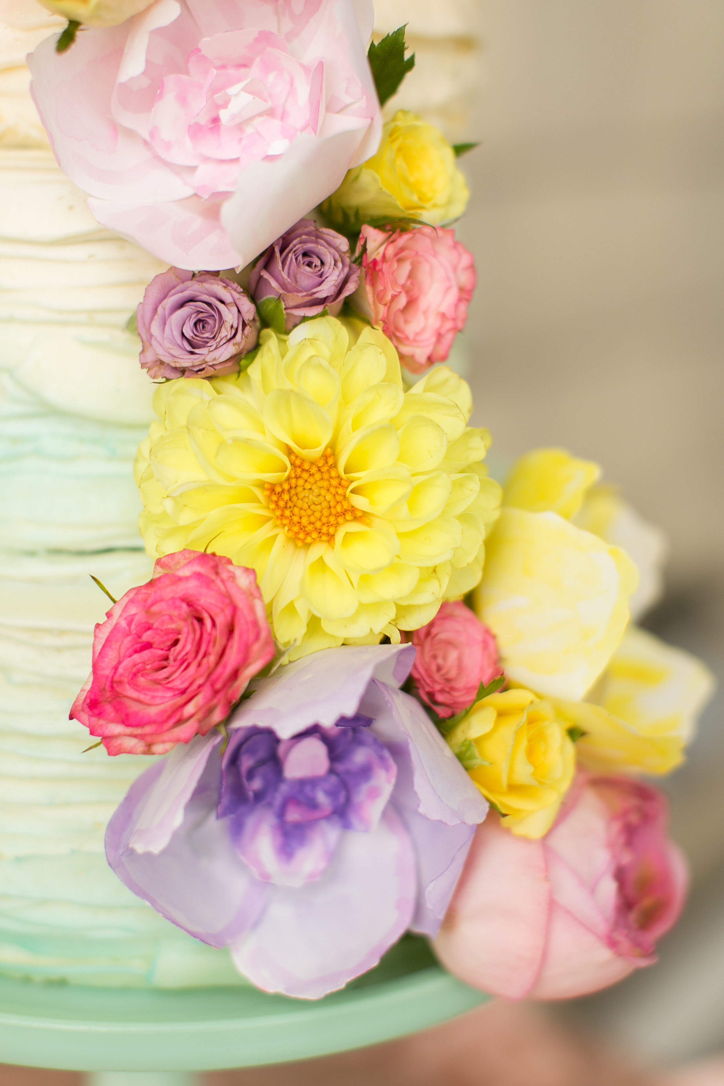 Amanda Hedgepethy Photography  Florals:  One Sweet Day in May  Paper Flowers:  Sweet Pear Paper  Cake: Chelsi Davis
