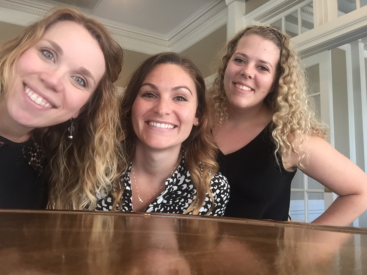 Lastly, I must thank my beautiful assistants, Amanda and Kelsey. Those two did a lot of the running around because I could not. No one does this job alone and I know I'm only successful because of people like them.