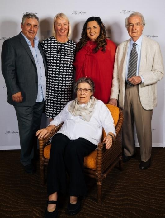 Rolando Herrera, Marketta Formeaux, Lorena Herrera, Warren Winiarski, Barbara Winiarski.jpg