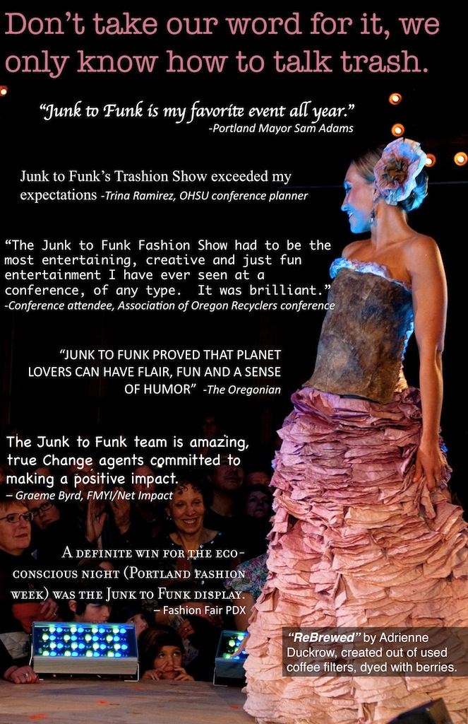 Junk To Funk Trashion Collective Lindsey Newkirk