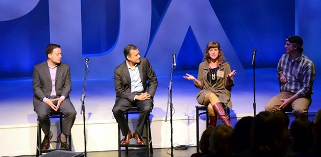 """""""Resilience Uncensored""""  panel member atPSU's Elevating Impact Summit"""