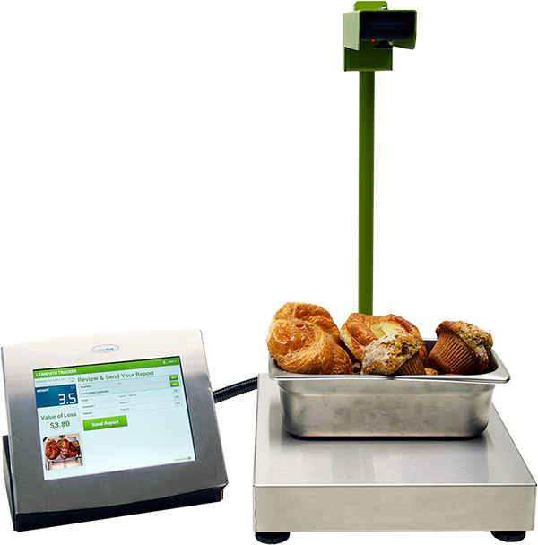 Technology - We make it easy for staff to track all food waste with our industry leading smart meters.