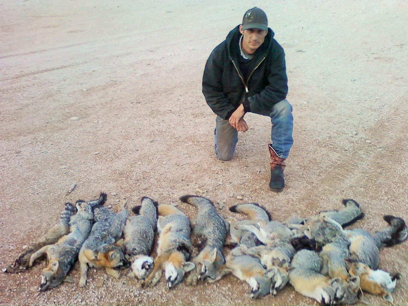 A successful predator hunt!