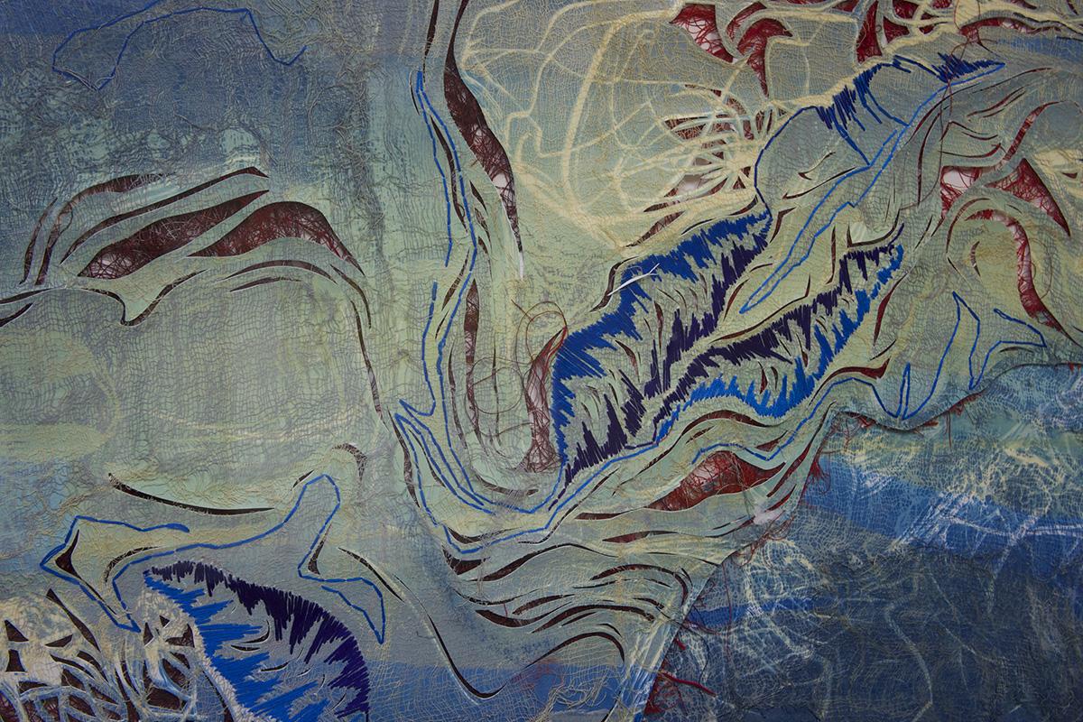 """waters II, detail, 18"""" x 24"""",  redeemed print, 2009"""
