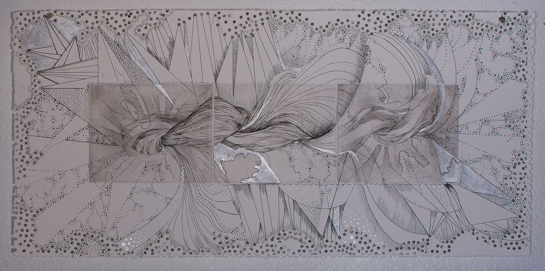 Engraving Drawing_works on paper printmaking