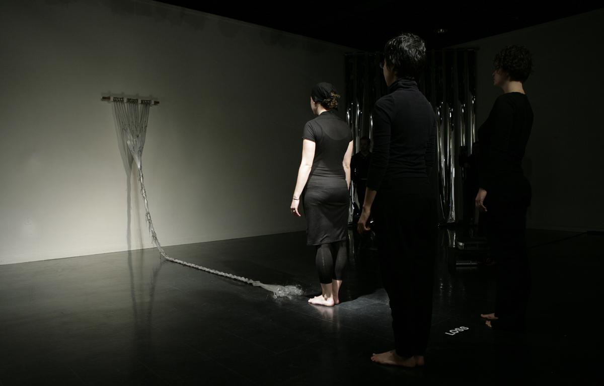 a tribute - performance braiding, 2011